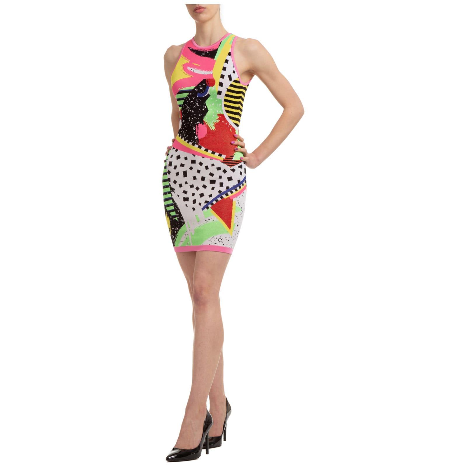Buy Balmain Eyelike Mini Dress online, shop Balmain with free shipping