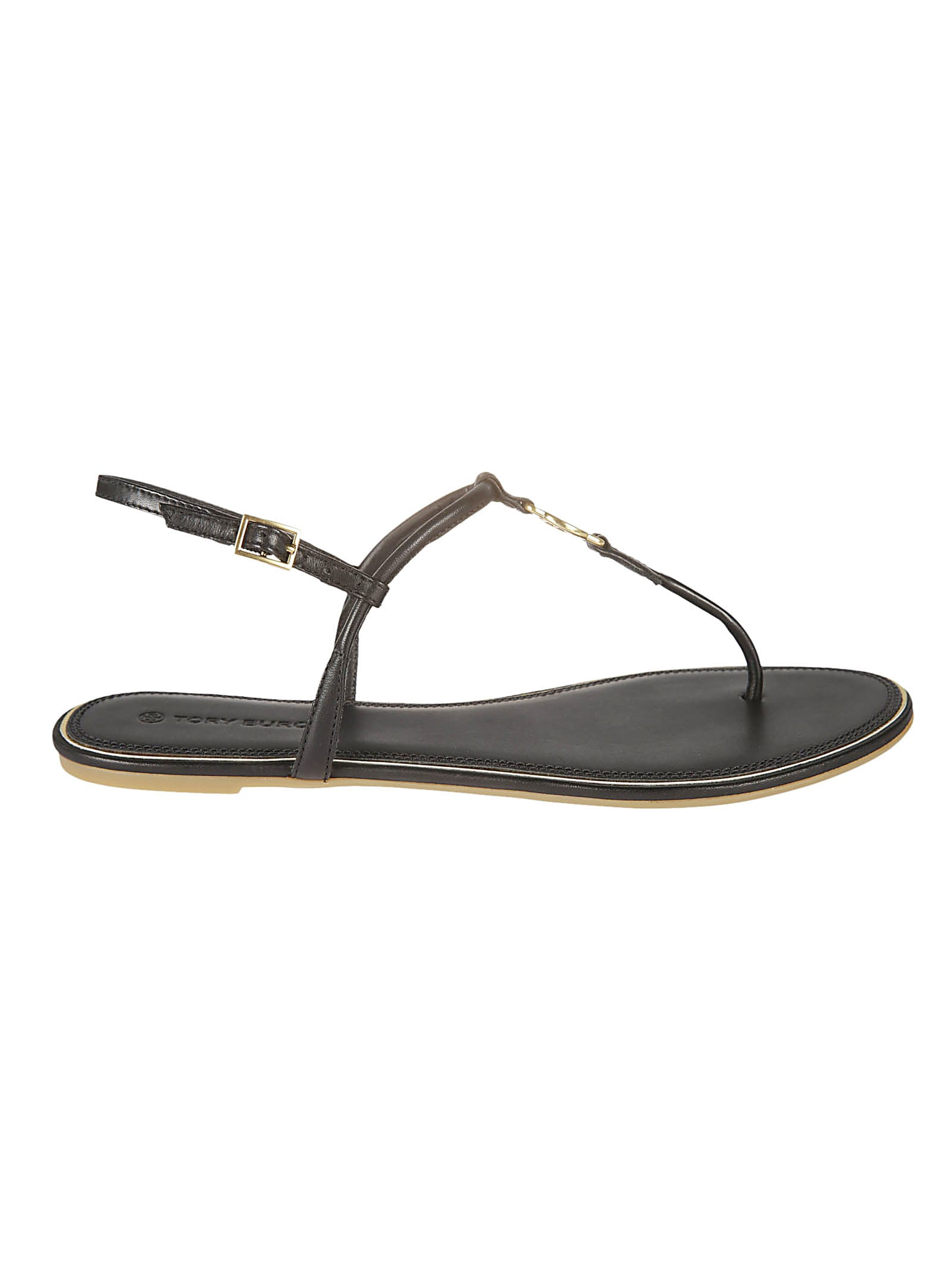 Buy Tory Burch Emmy Flat Sandals online, shop Tory Burch shoes with free shipping