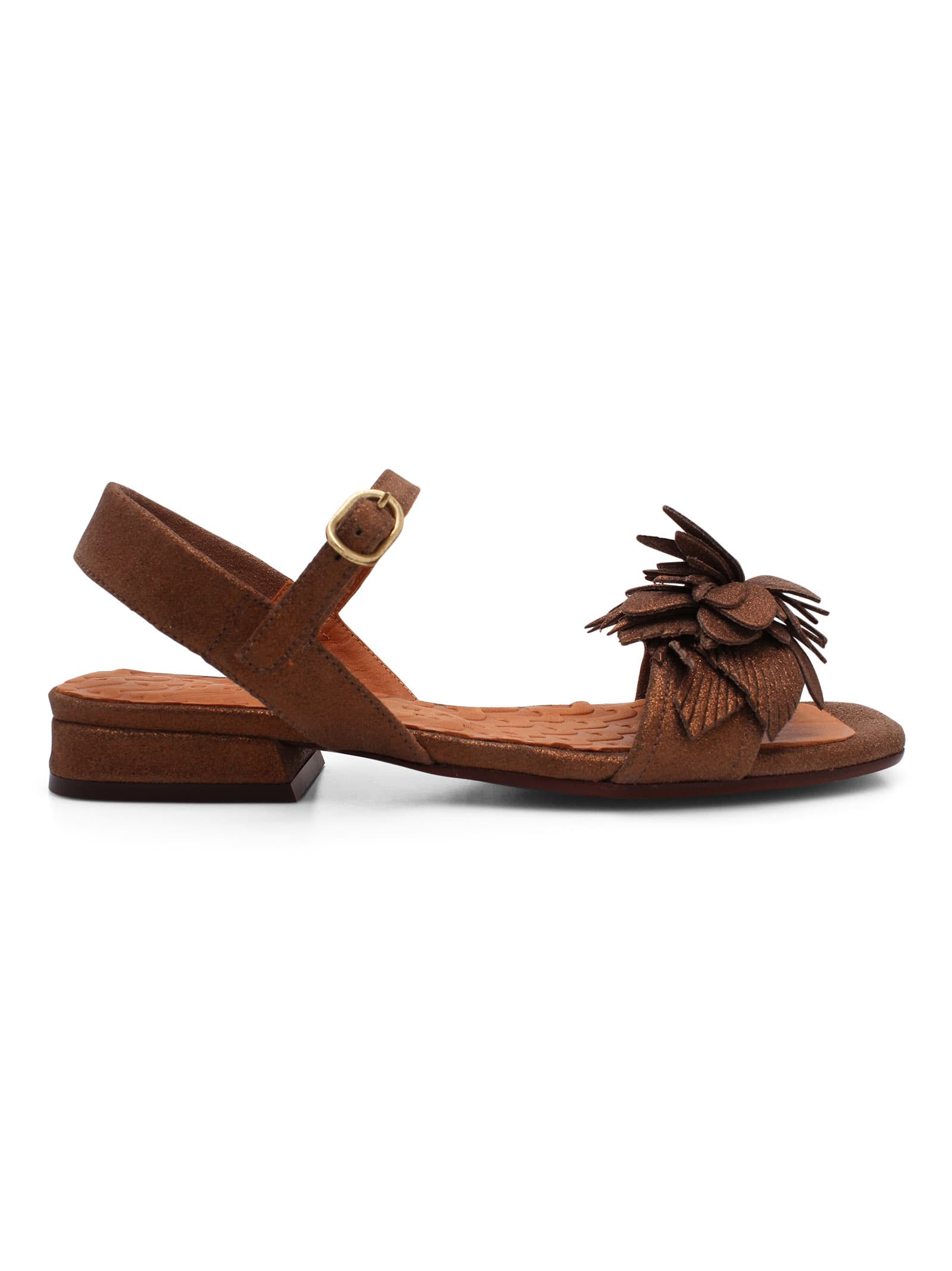 Chie Mihara TADUL LEATHER FLAT SHOES