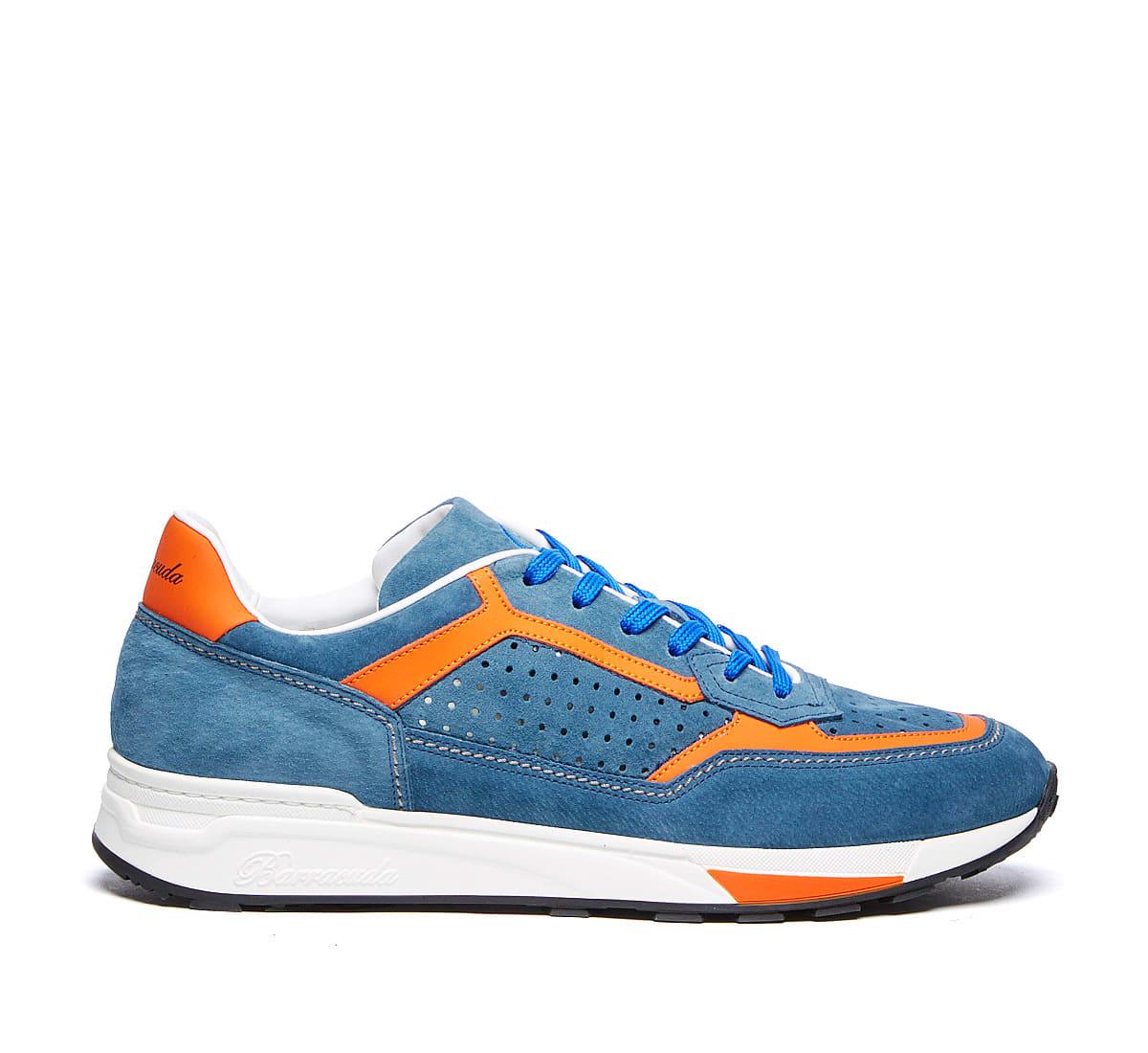 Barracuda Sneaker In Avio/arancio