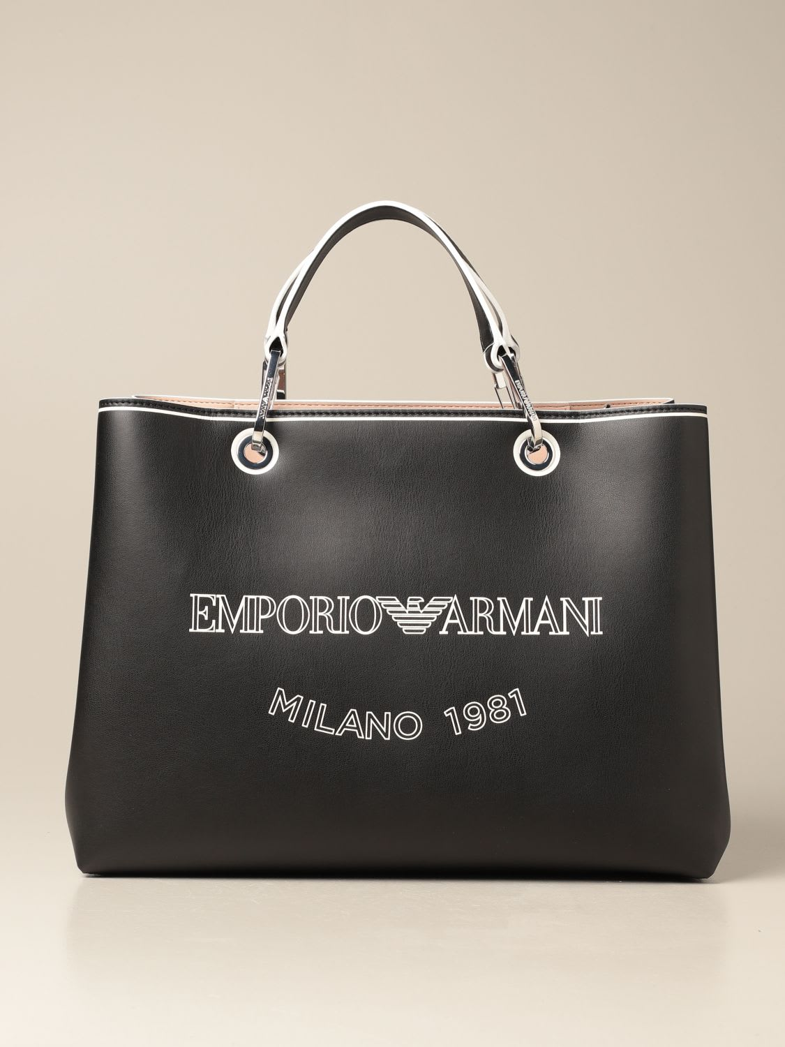 Emporio Armani Bags BAG IN SYNTHETIC LEATHER