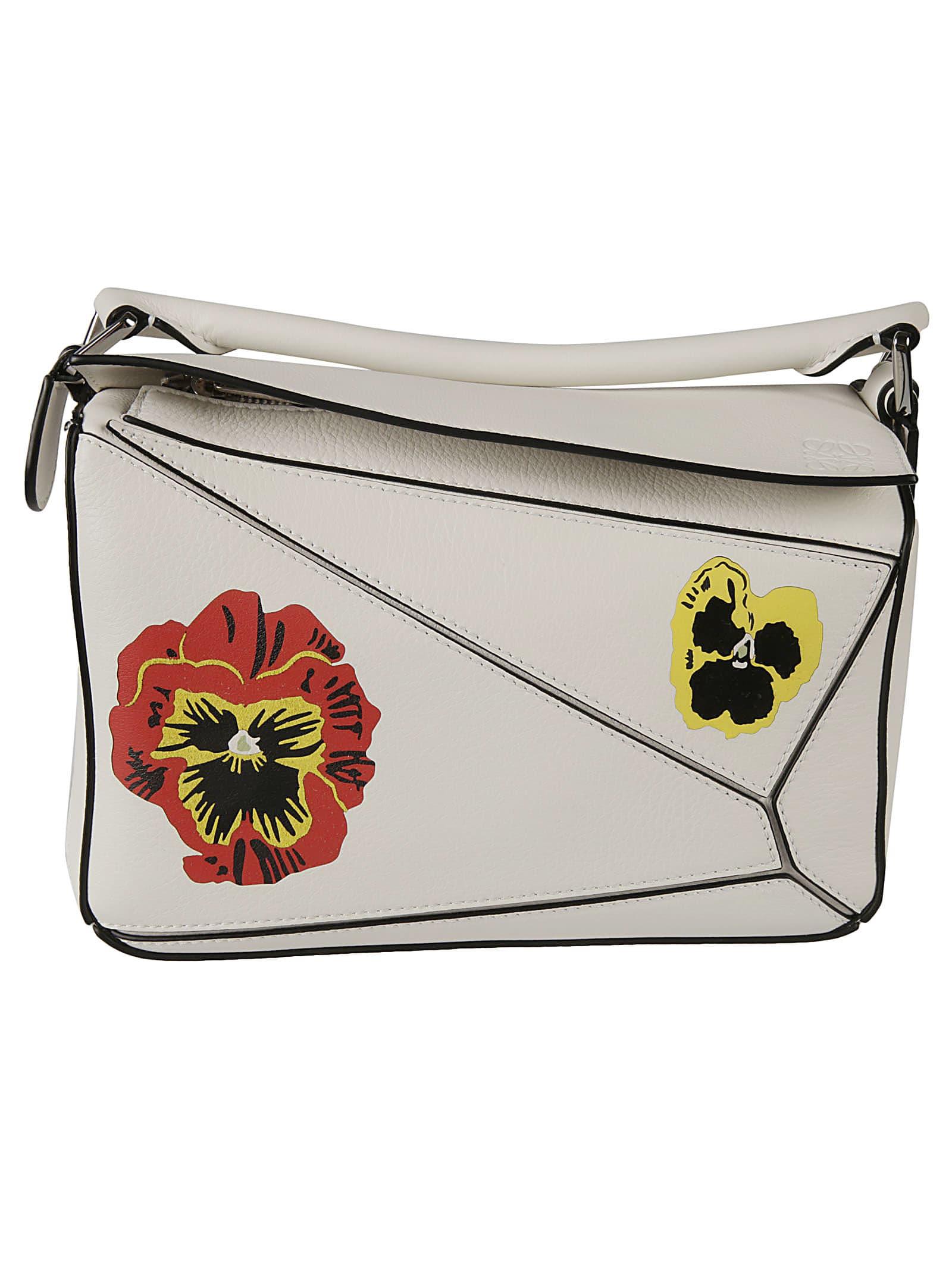 Loewe Floral Print Shoulder Bag