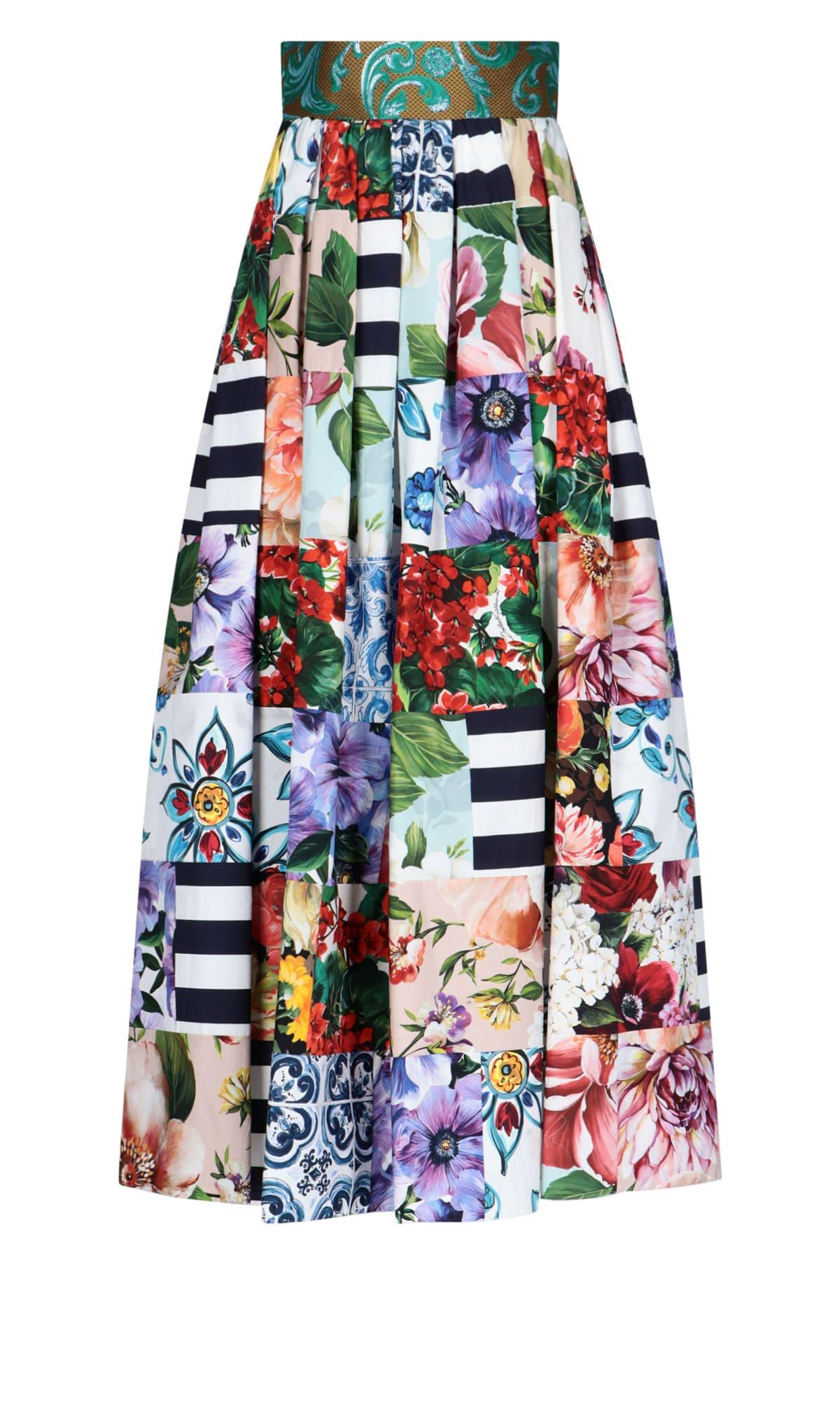 Dolce & Gabbana Cottons SKIRT