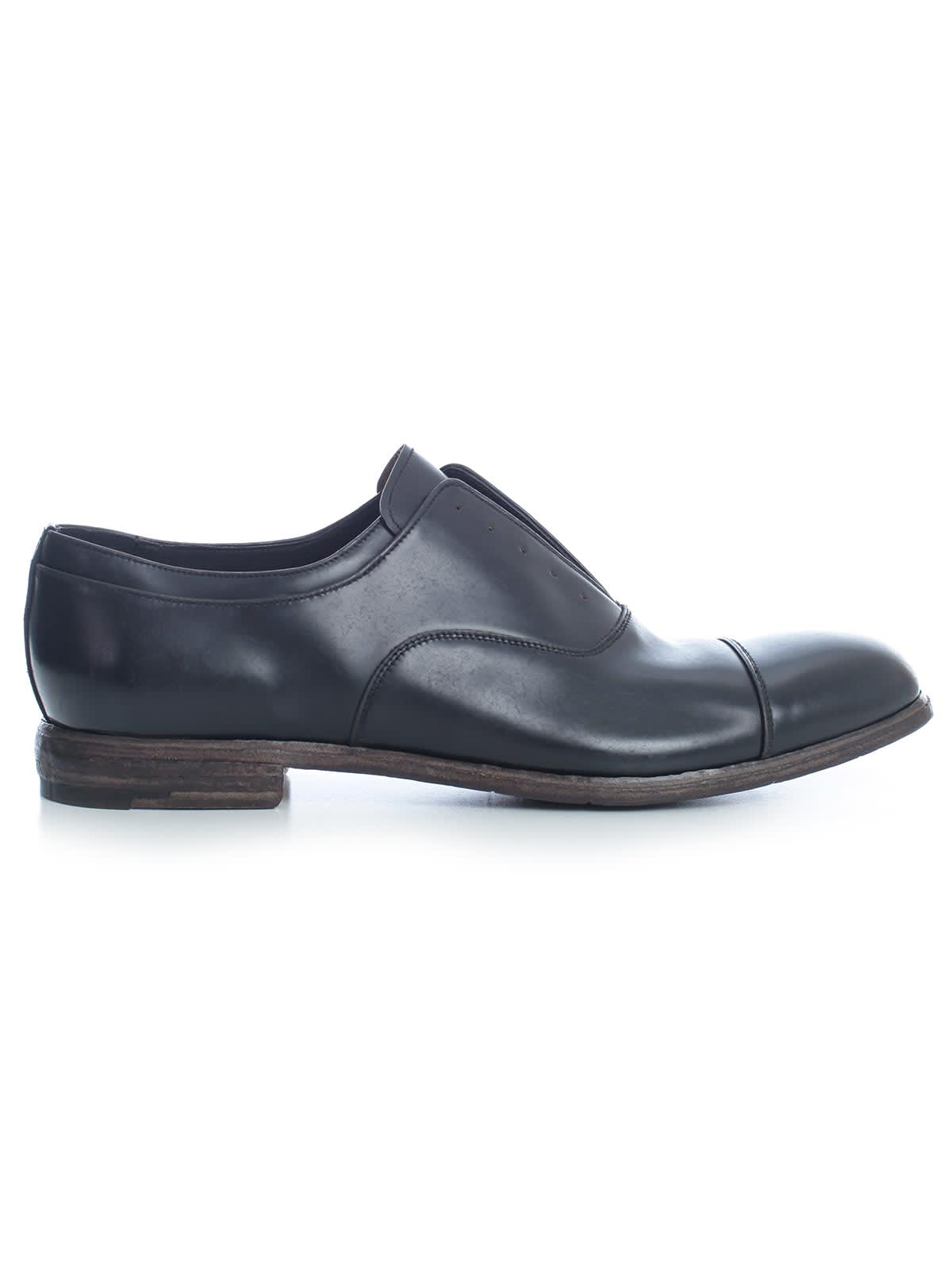 Premiata Monella Lace Up Shoes W/leather Lace In Nero