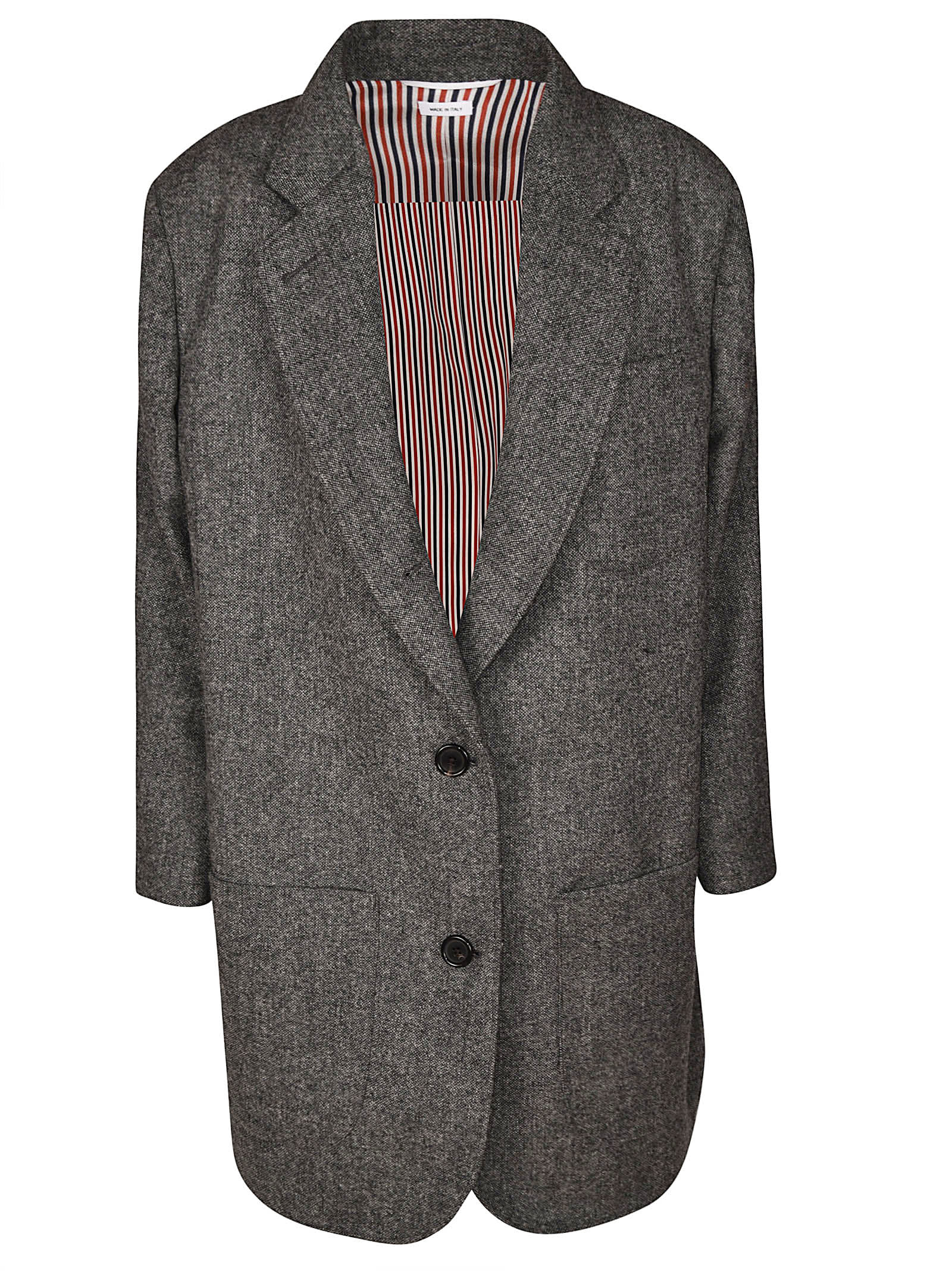 Thom Browne Supersized Sb Sack Jacket