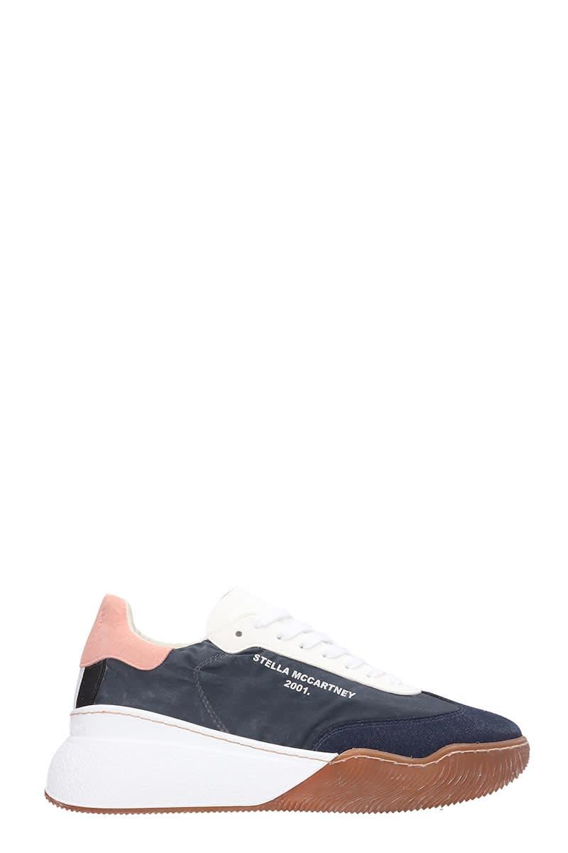 Stella McCartney Loop Sneakers In Black Tech/synthetic
