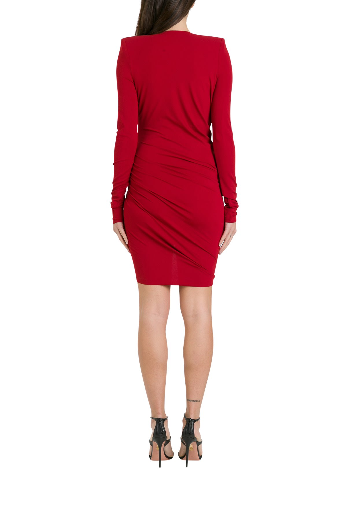 Alexandre Vauthier DRAPED MINIDRESS