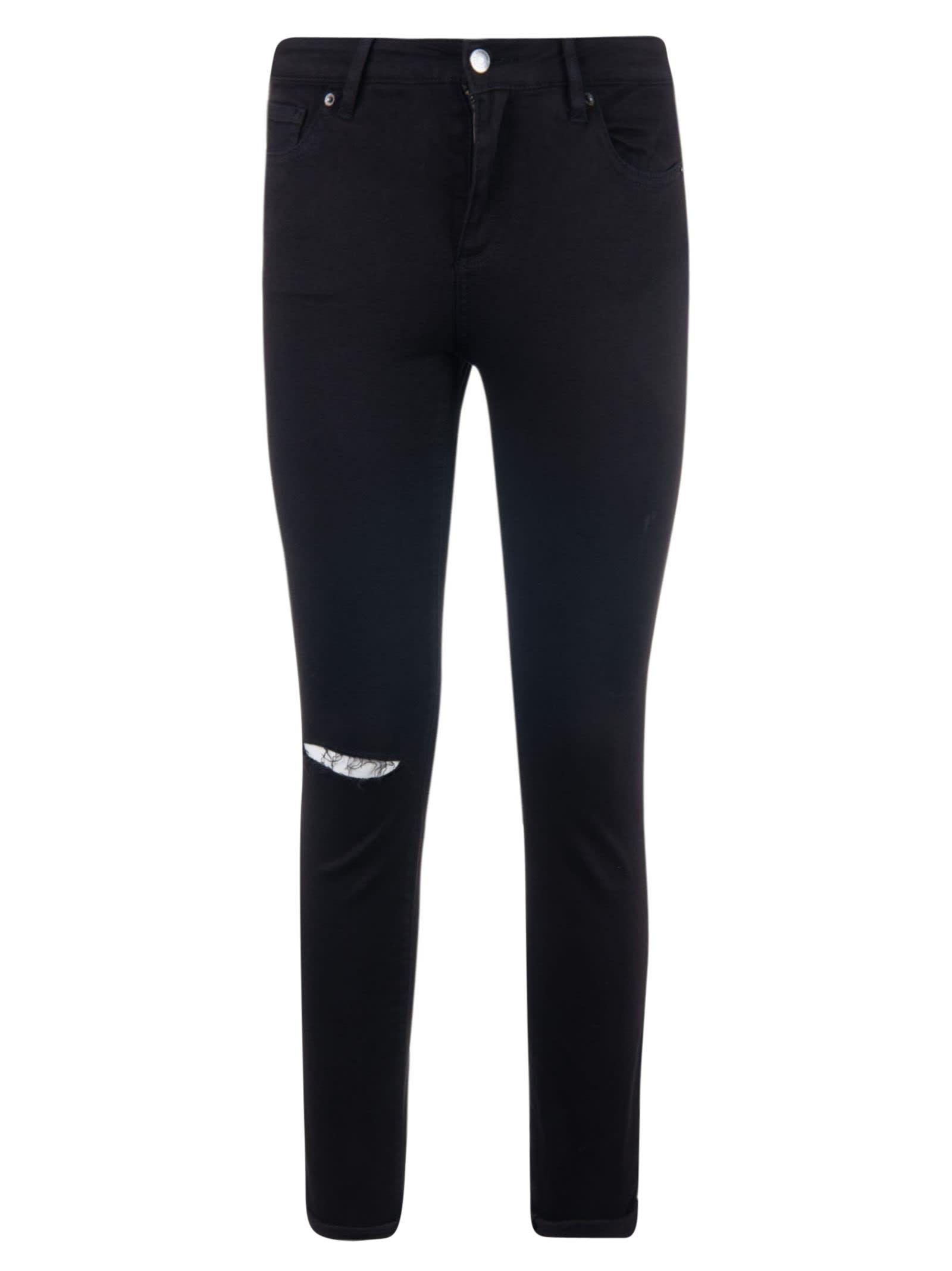 brand new e0701 f6035 Armani Collezioni Super Skinny Shredded Powerstretch Jeans