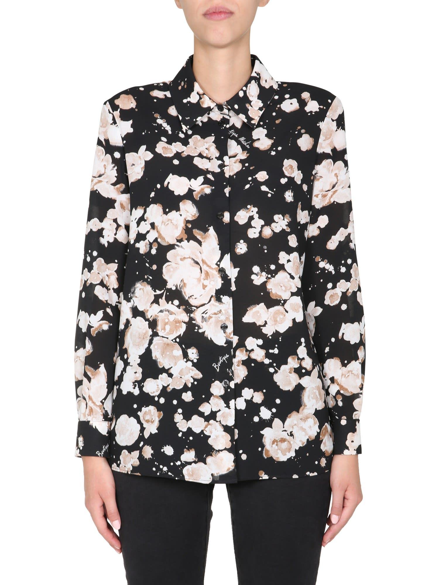 Boutique Moschino Shirts SHIRT WITH LOGO