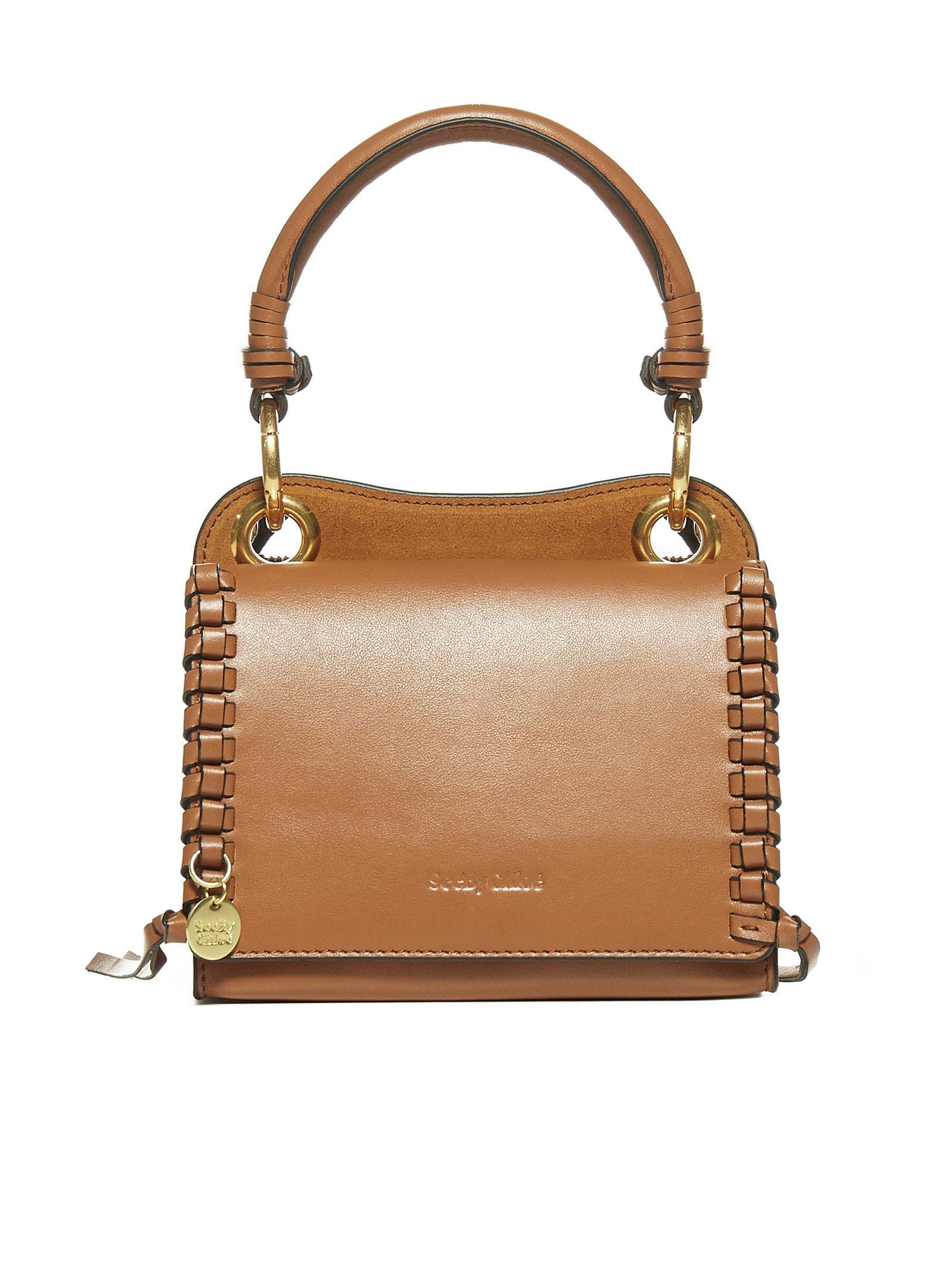 See By Chloé Shoulder Bag In Caramello