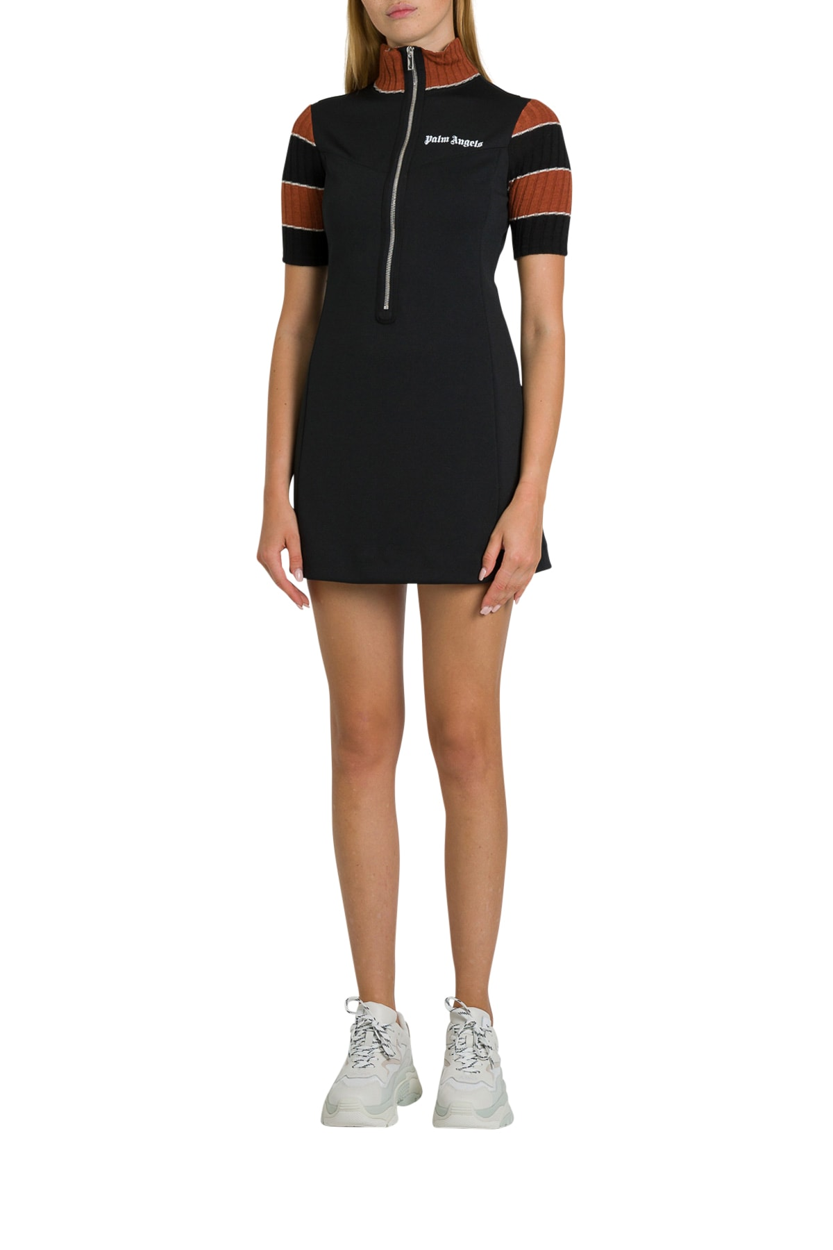 Palm Angels A-line Minidress