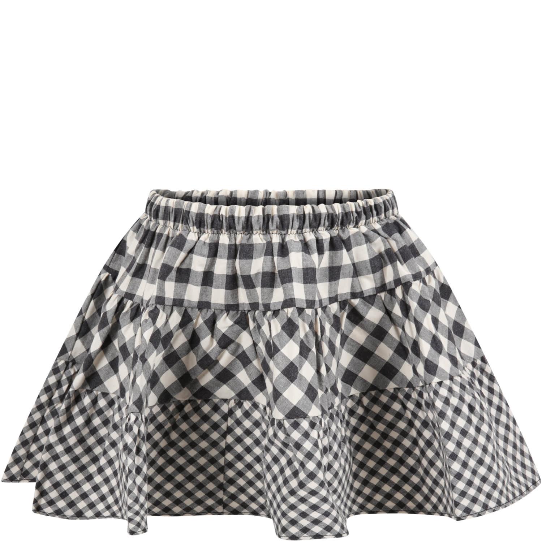 Caffe dOrzo Multicolor tecla Skirt For Girl