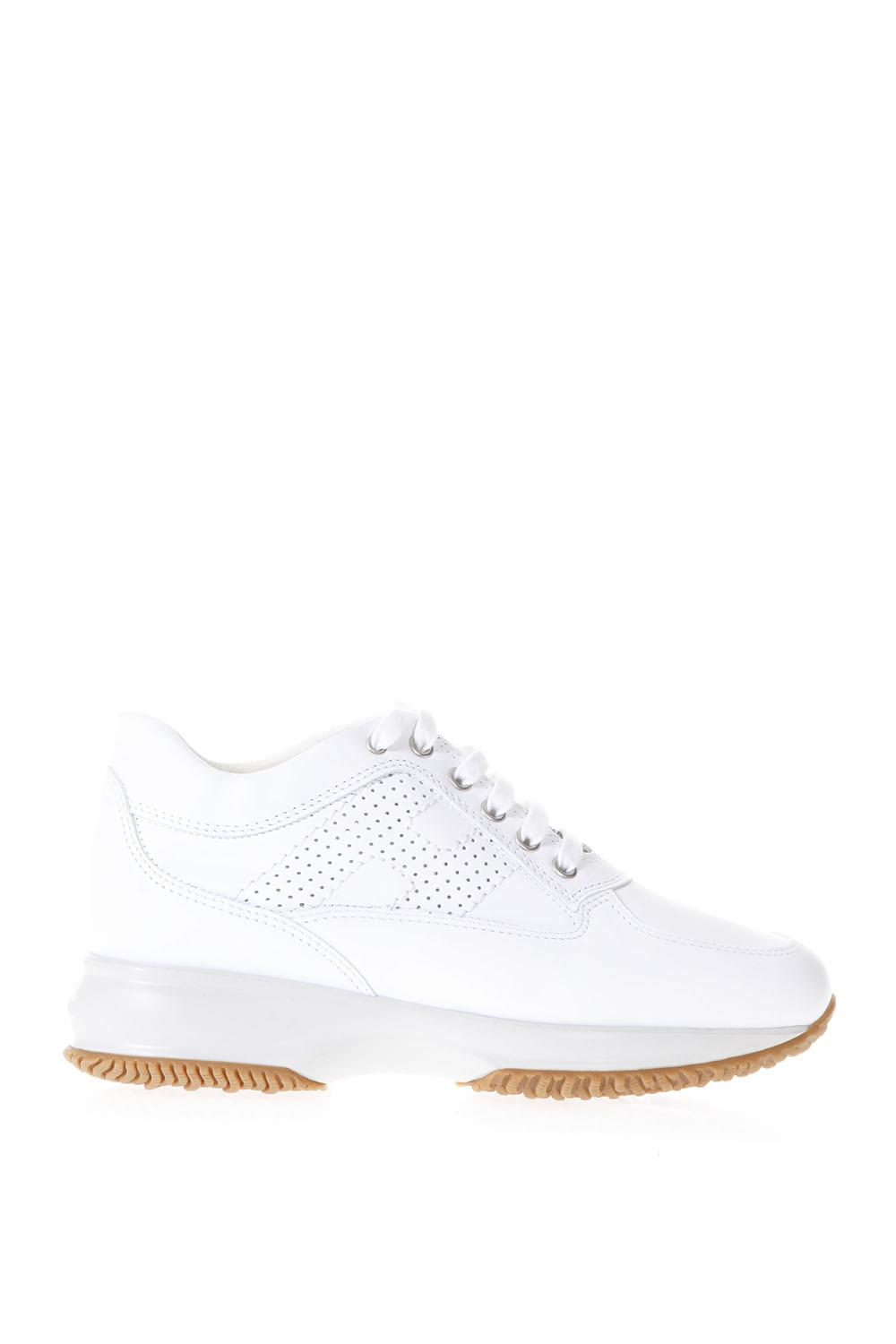 Hogan Hogan Interactive White Suede & Leather Sneakers