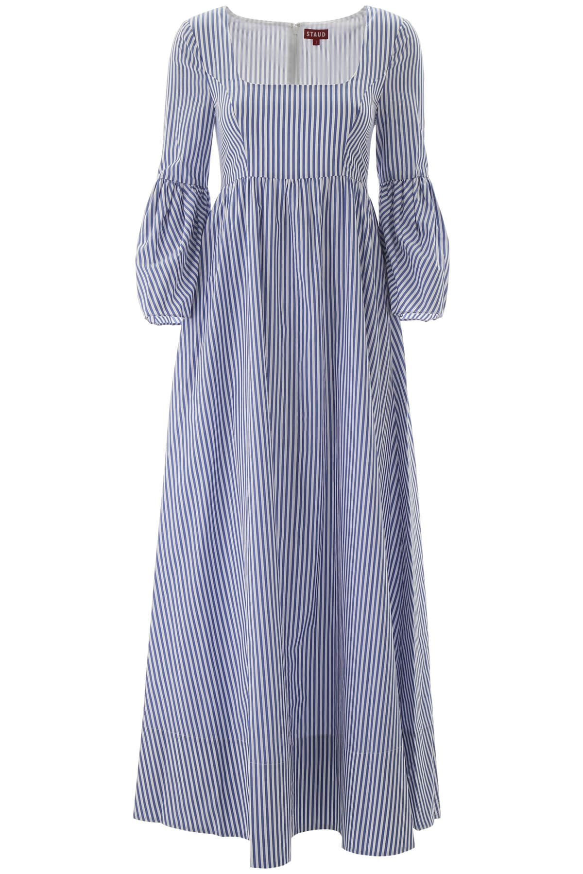 Buy STAUD Plumeria Striped Dress online, shop STAUD with free shipping