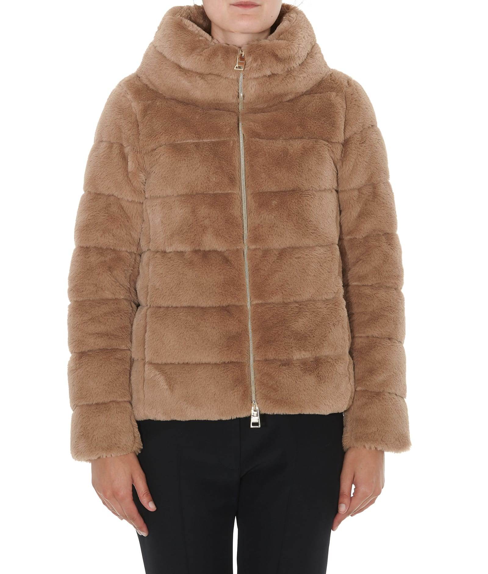 Herno Eco Fur Down Jacket