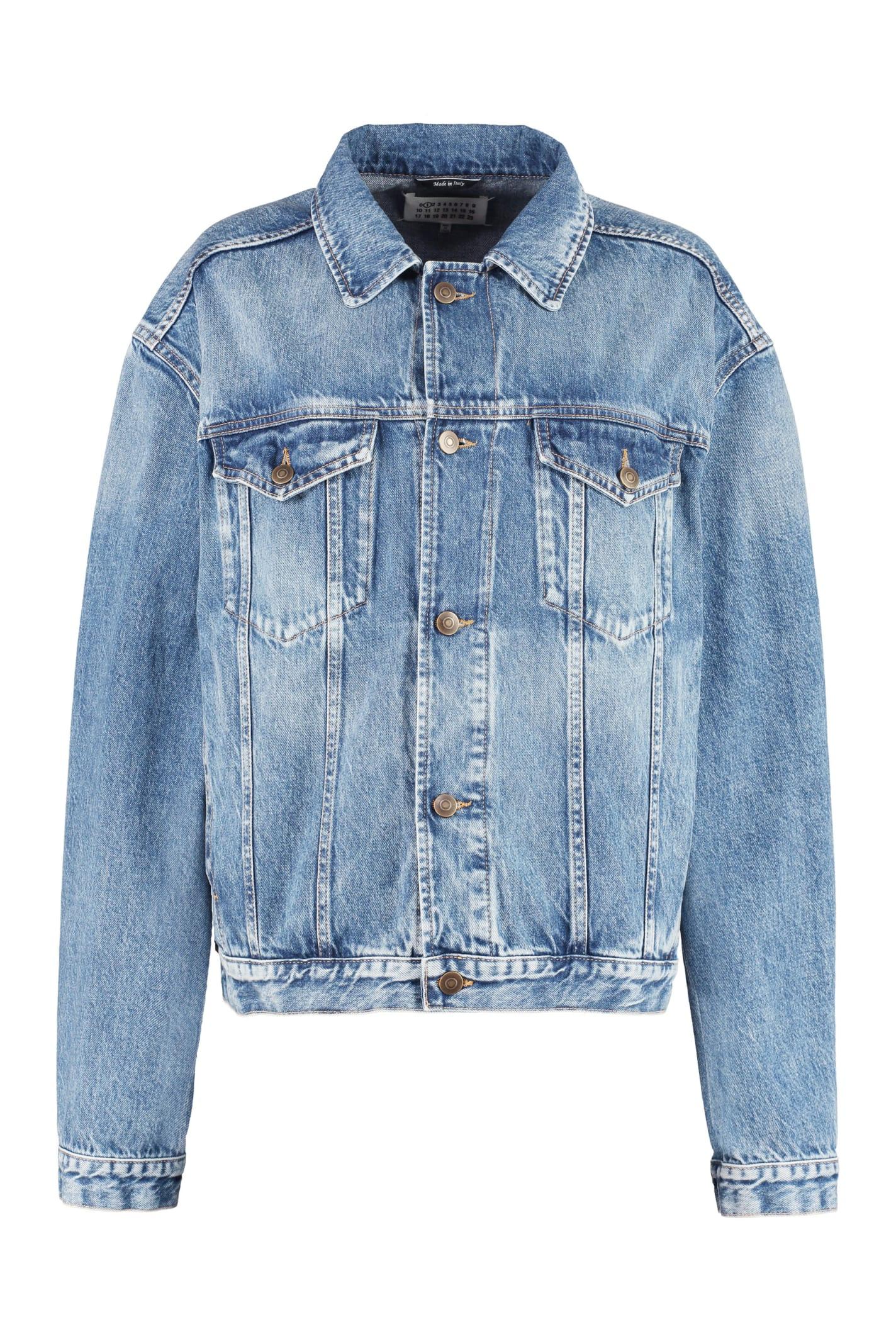 Maison Margiela Bleach Wash Denim Jacket