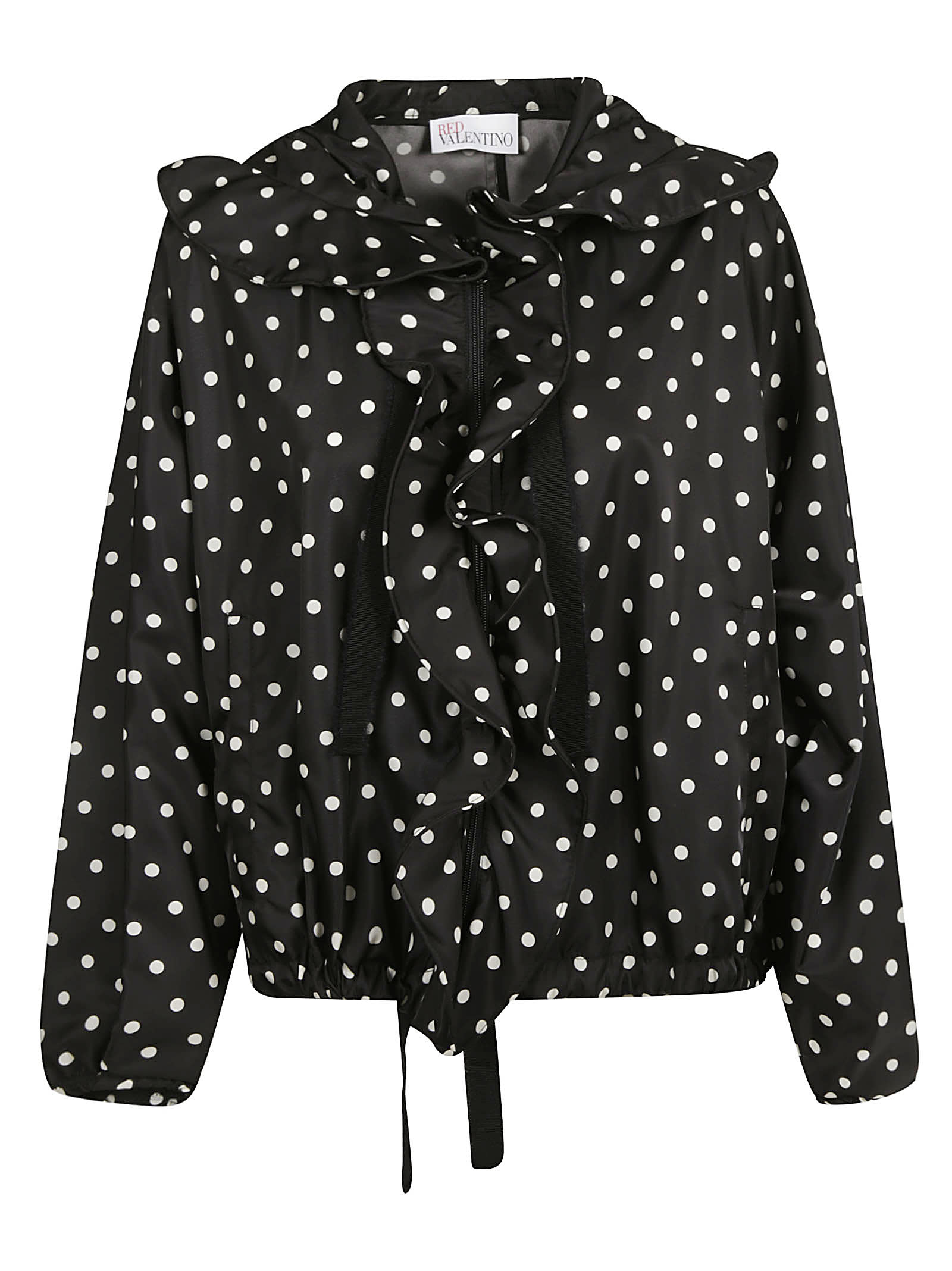 RED Valentino Dotted Print Blouse