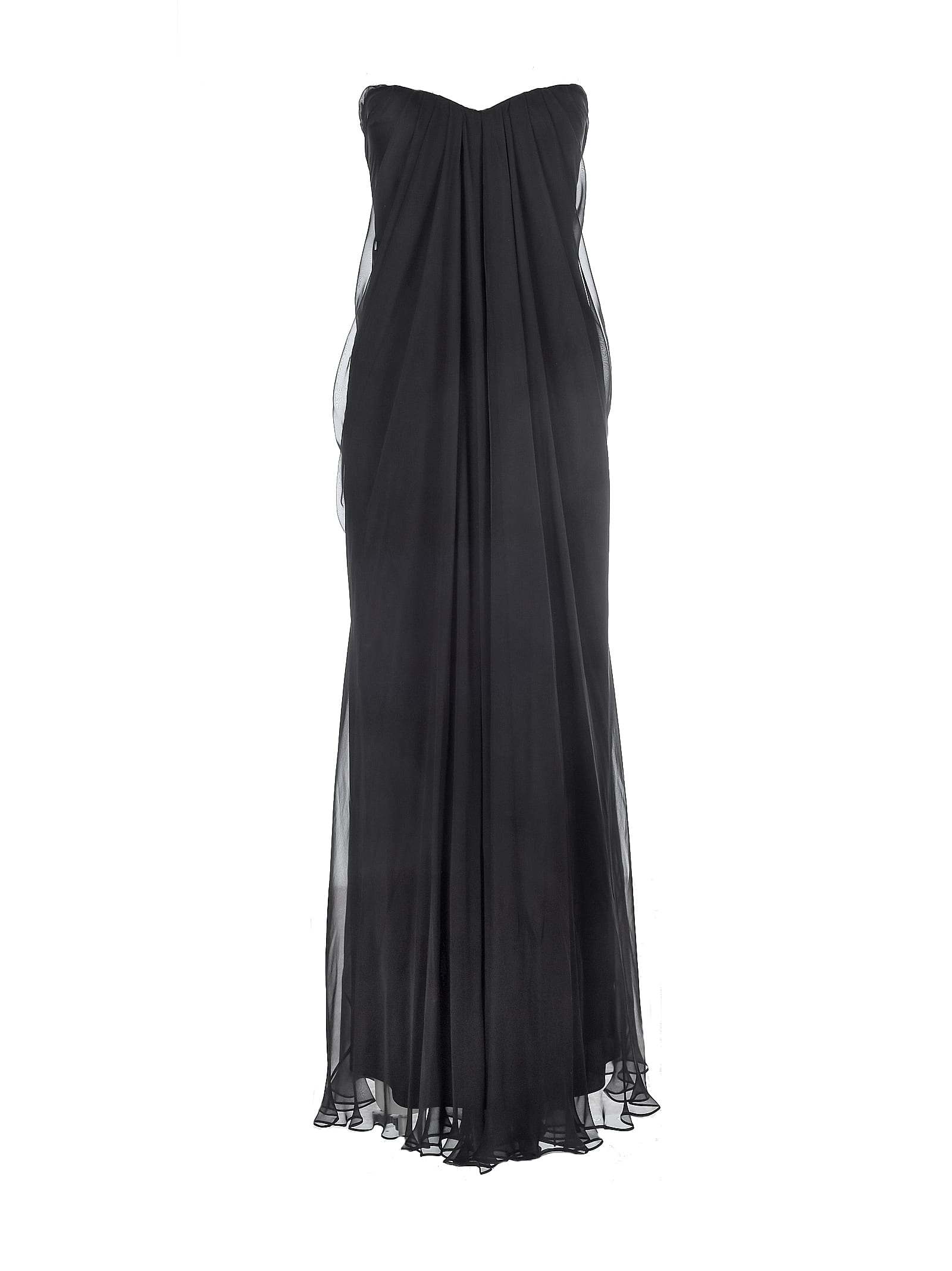 Buy Alexander McQueen Dress Chiffon online, shop Alexander McQueen with free shipping