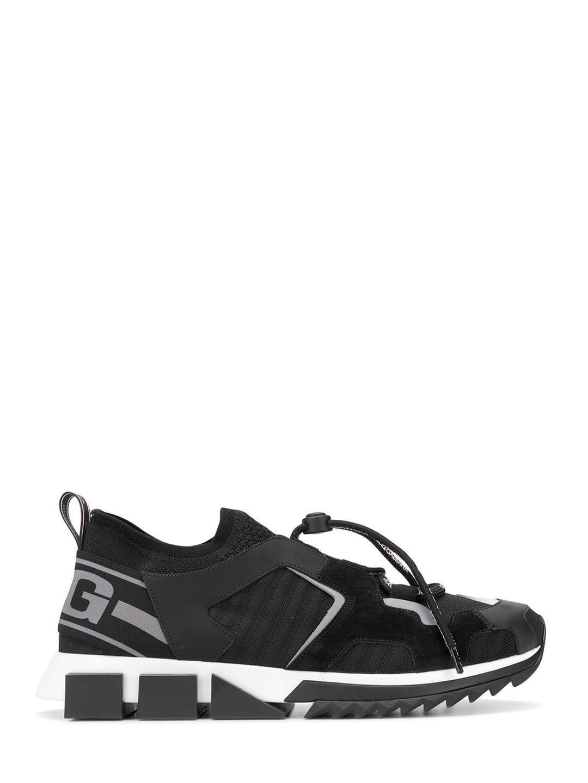 Dolce & Gabbana Sneaker Sorrento Trekking In Black