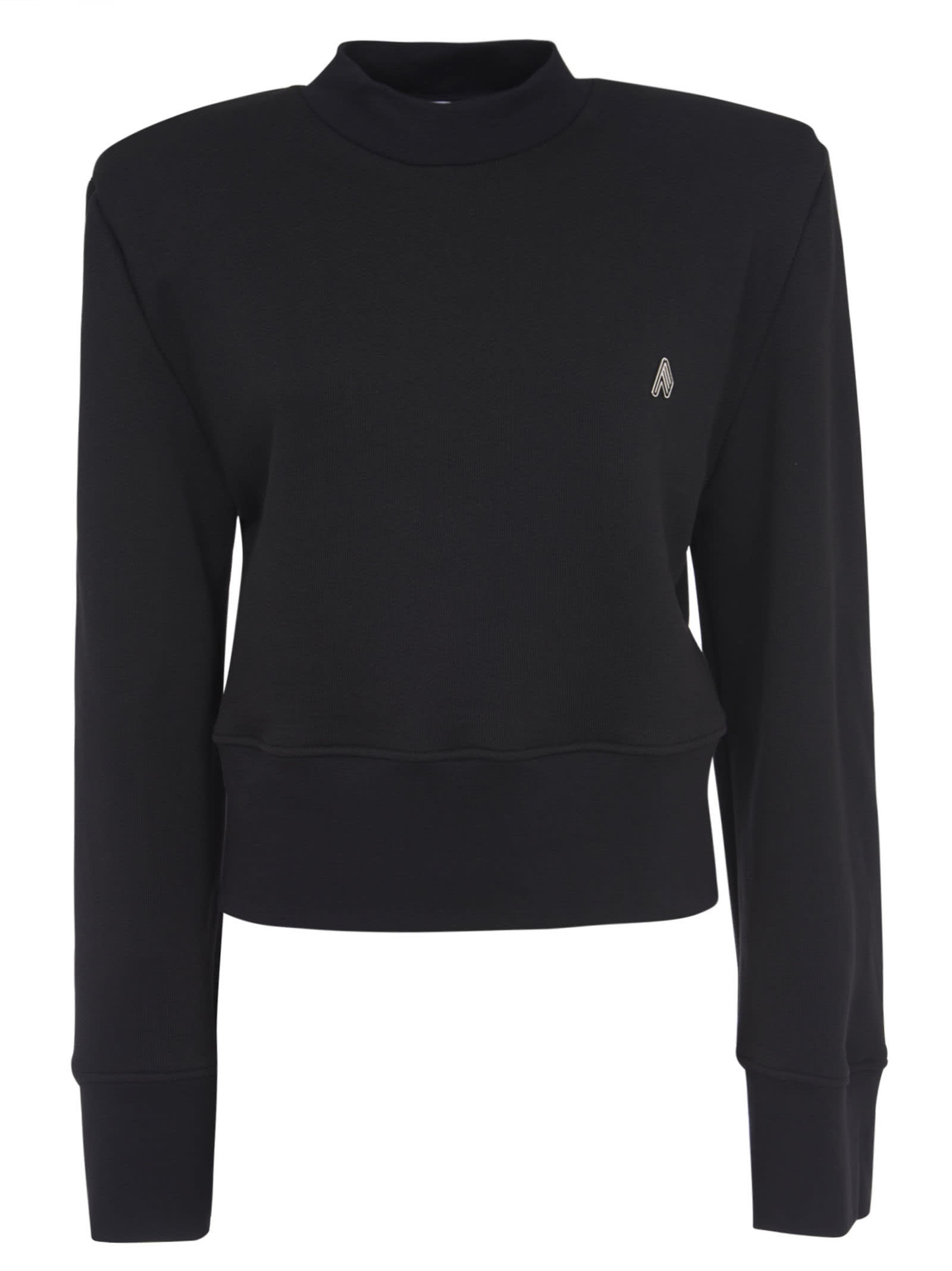 Attico CROPPED LENGTH SWEATSHIRT