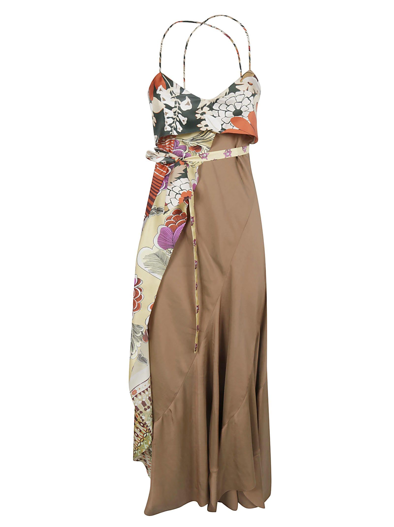 Chloé Scarf Detail Dress