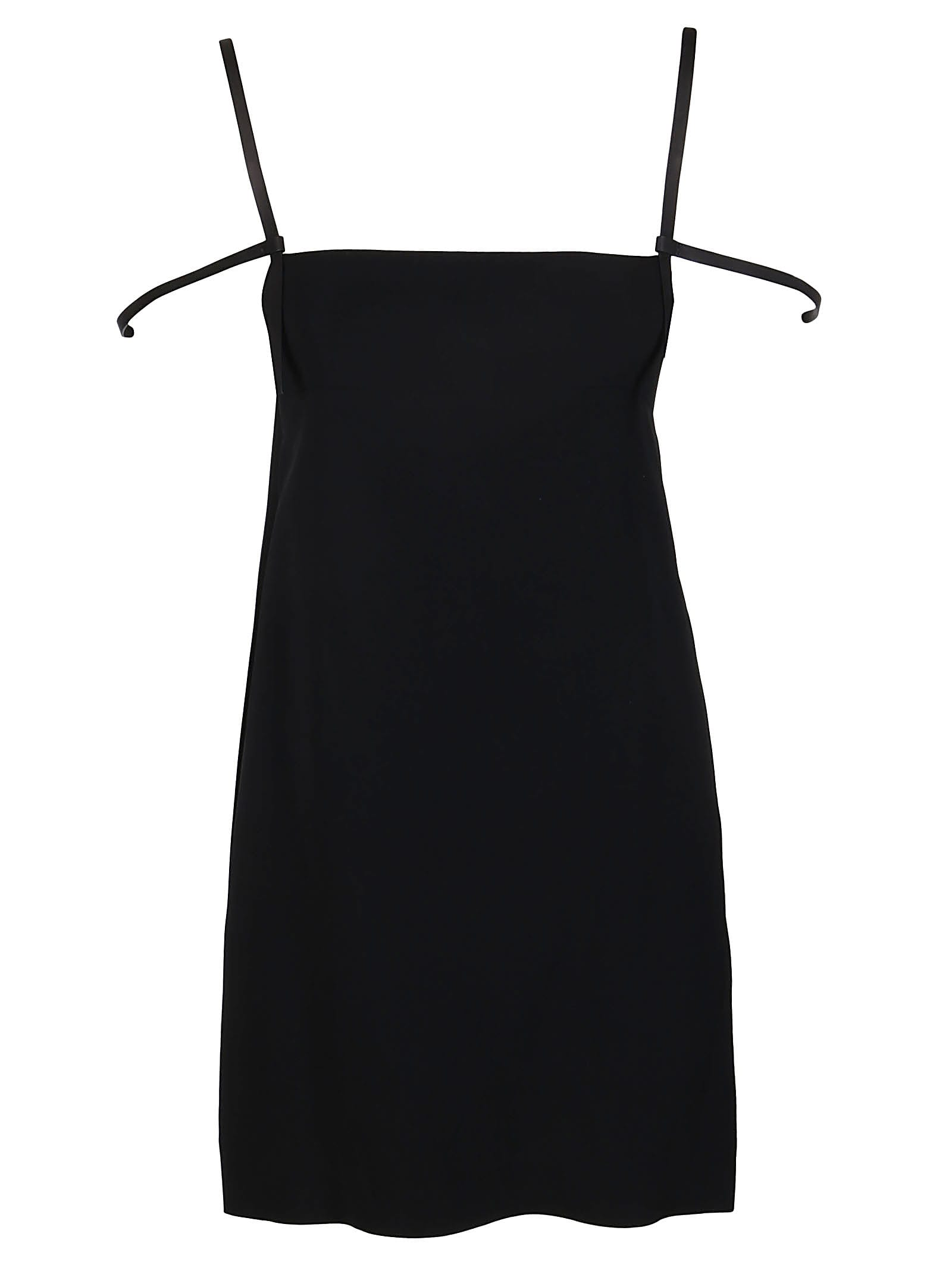 Buy Black Viscose Dress Dsquared2 online, shop Dsquared2 with free shipping