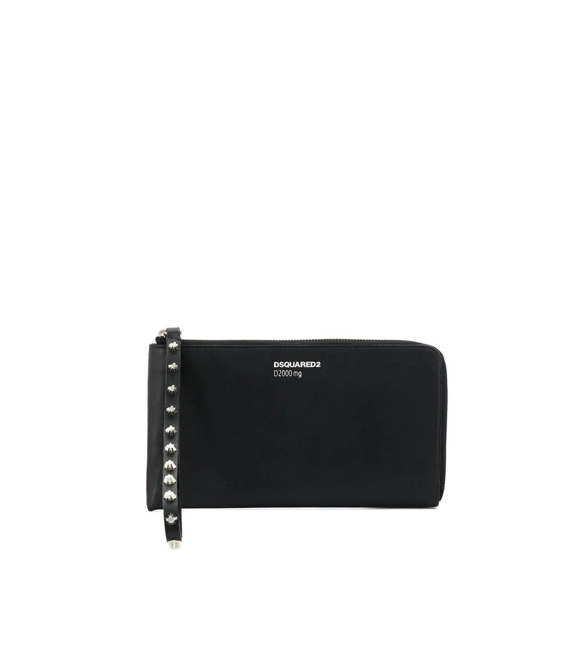 Dsquared2 Black Leather Wallet