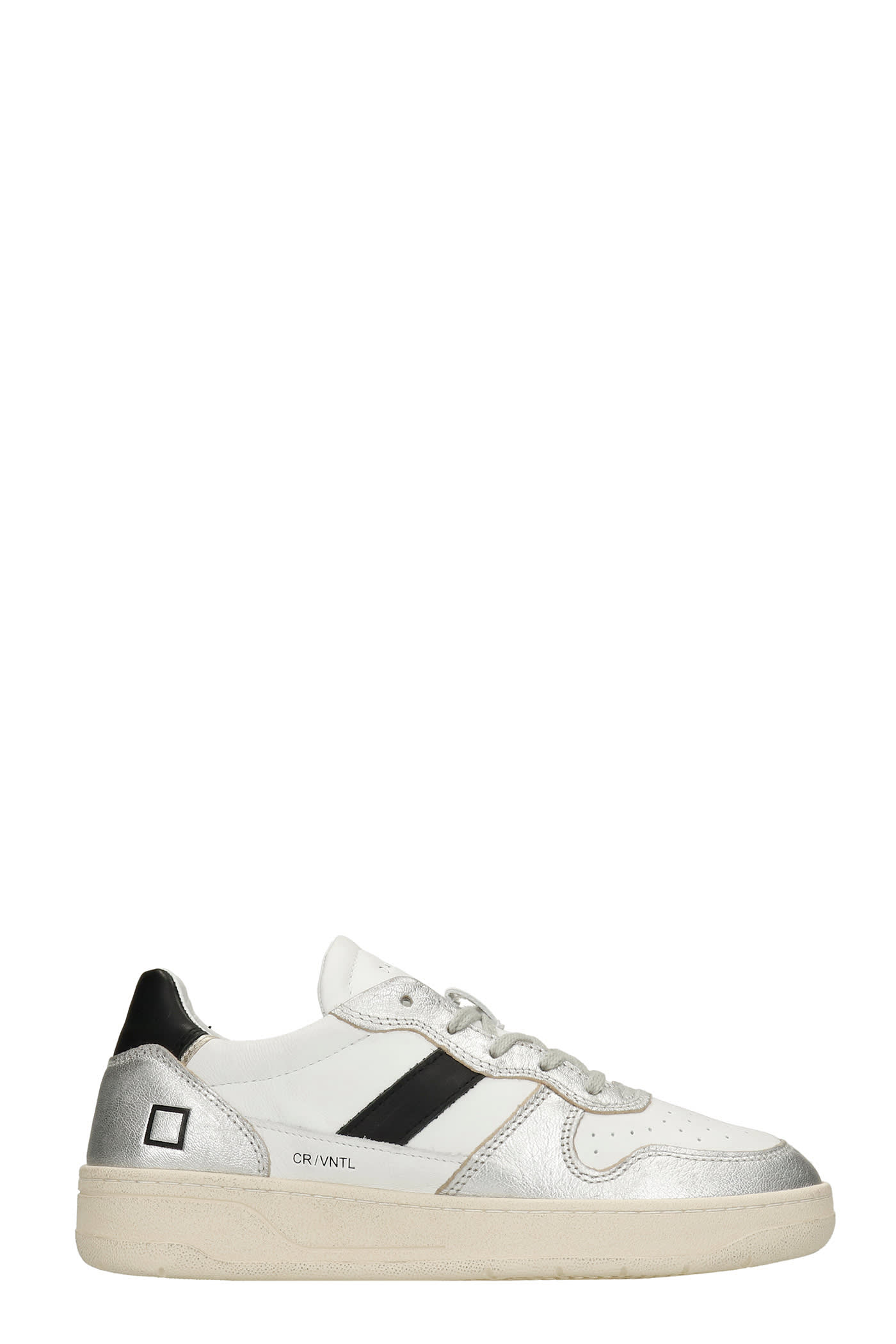 Court 2.0 Sneakers In White Leather
