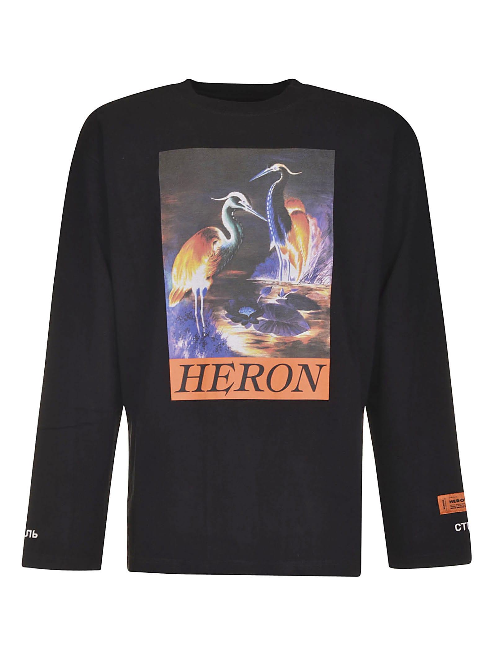 HERON PRESTON Heron Times T-shirt