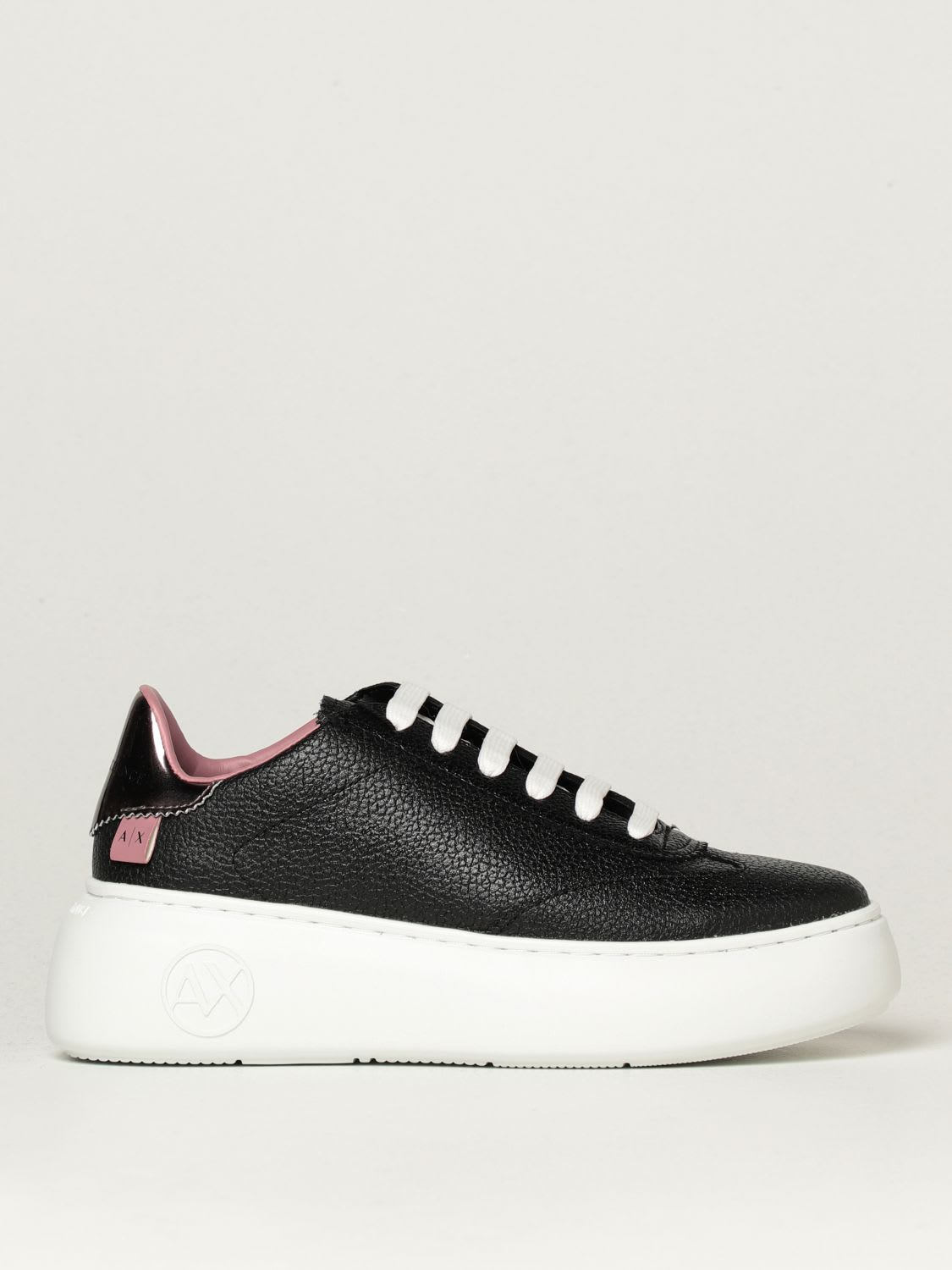 Armani Exchange Sneakers Armani Exchange Sneakers In Textured Leather