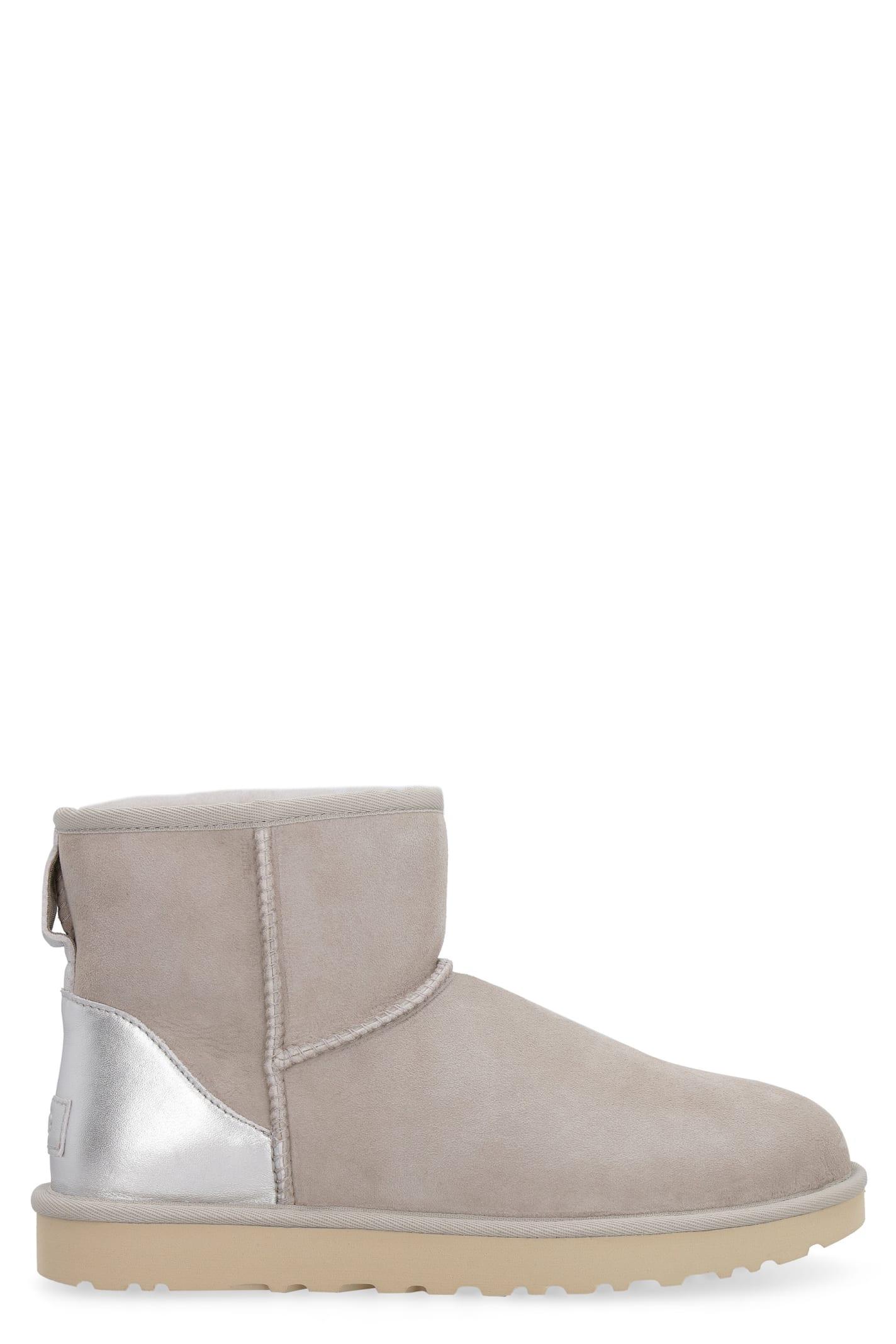 UGG Classic Mini Ii Metallic Boots
