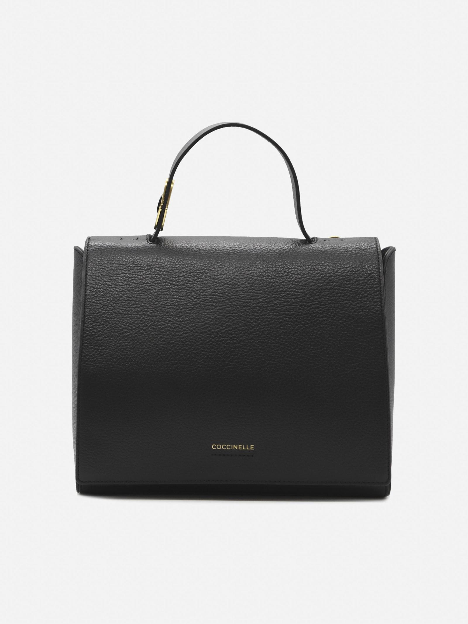 Josephine Handbag In Grained Leather