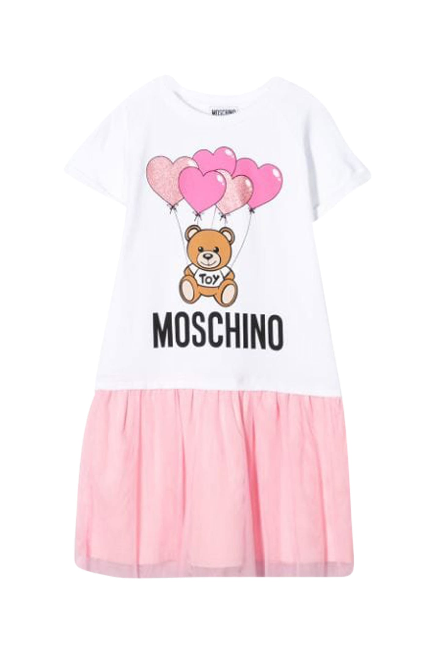 Buy Moschino Kids Toy Bear Dress online, shop Moschino with free shipping