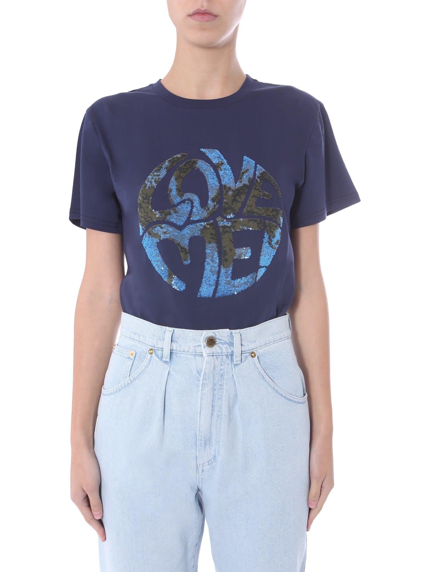 Alberta Ferretti Round Neck T-shirt