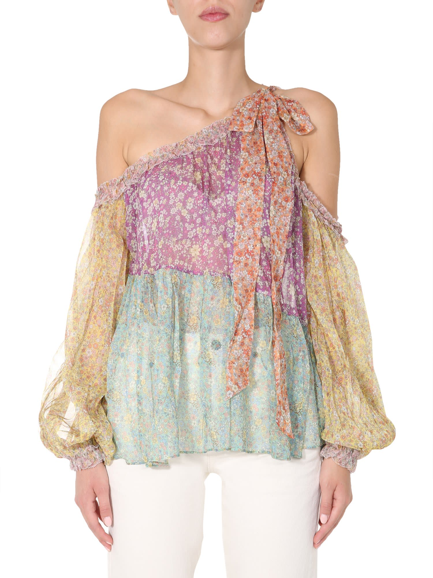 Zimmermann Asymmetric Blouse