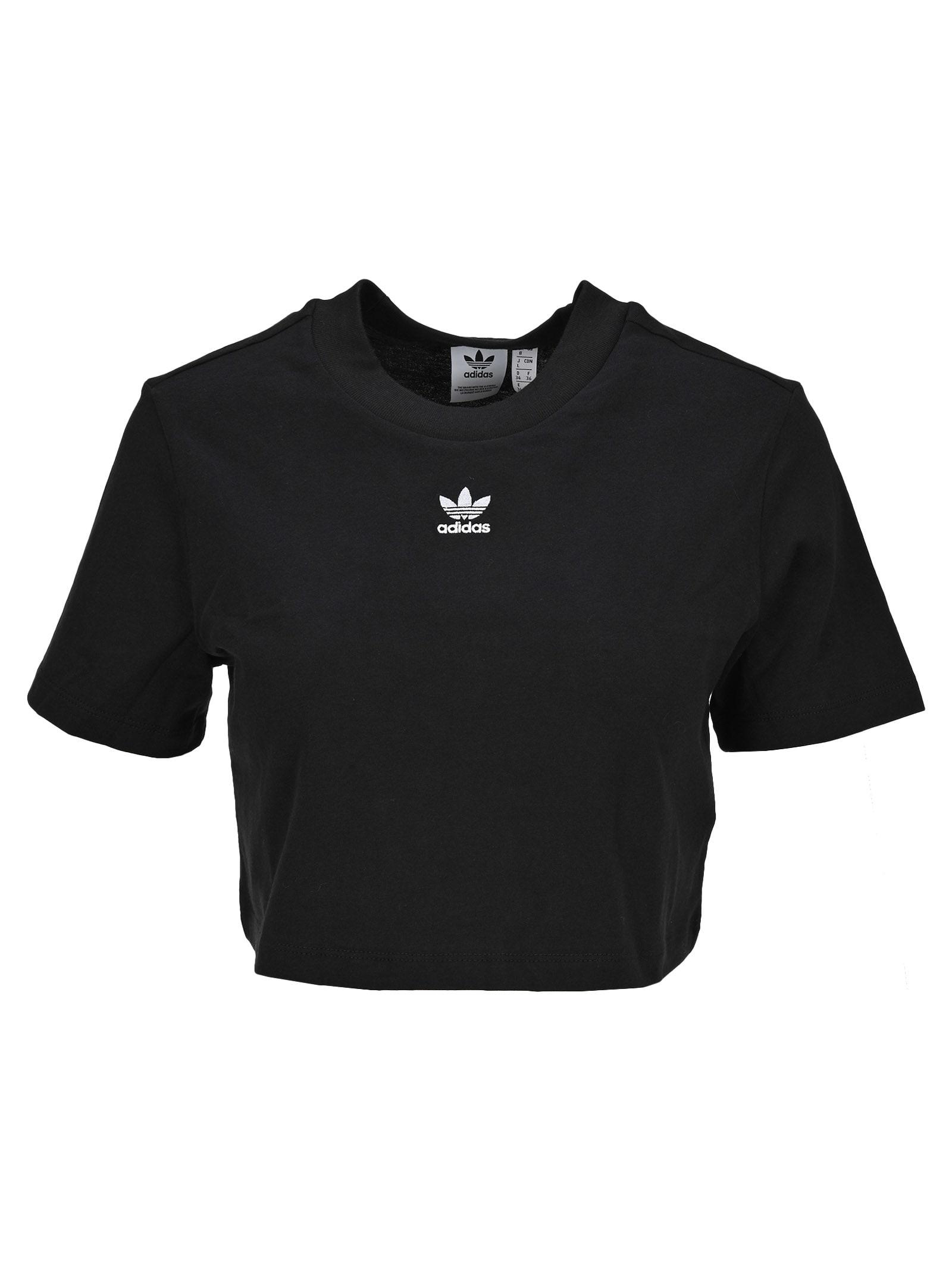 Adidas Originals Trefoil Essentials Cropped T-shirt