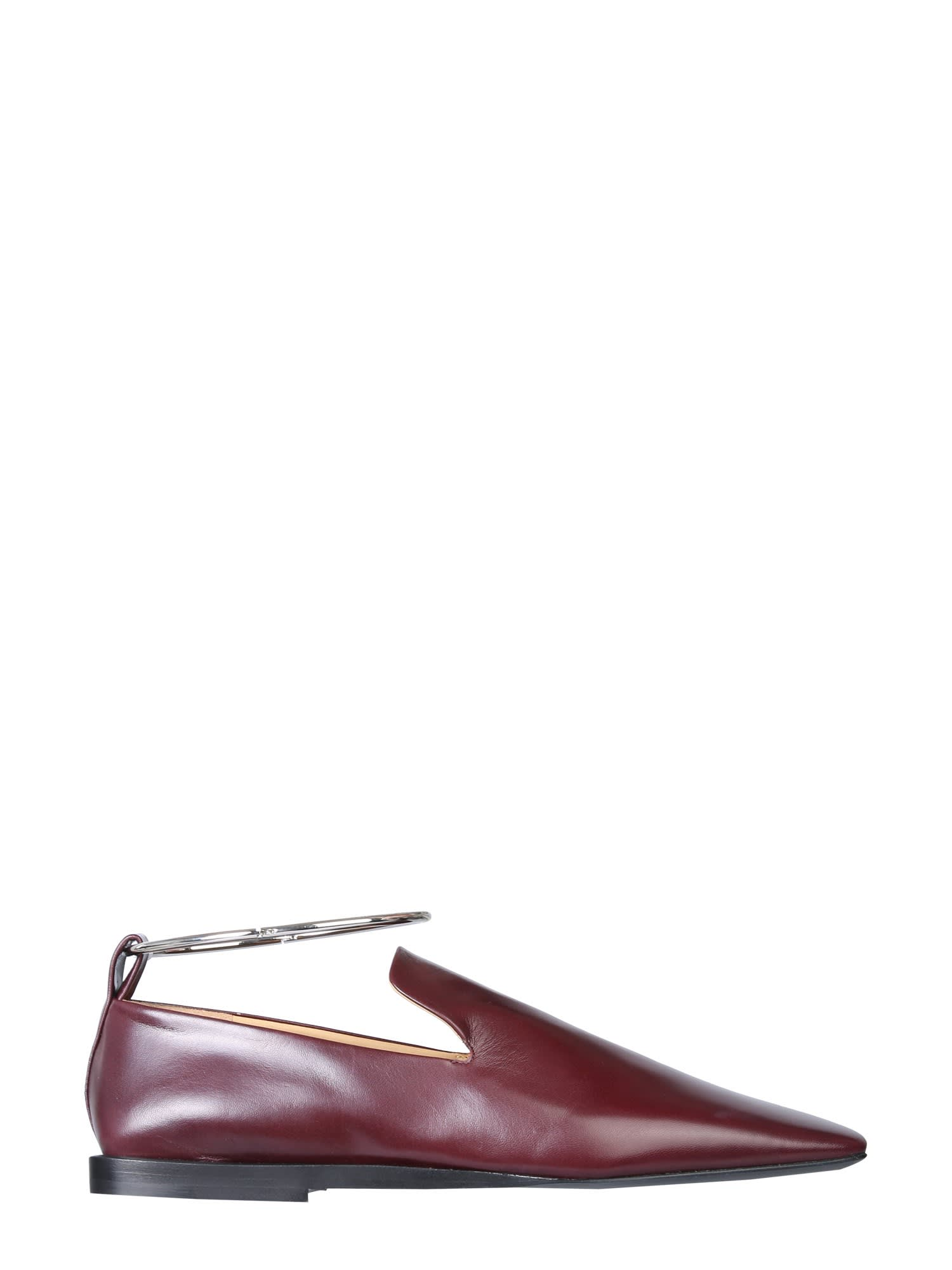 Jil Sander MOCCASIN WITH RING