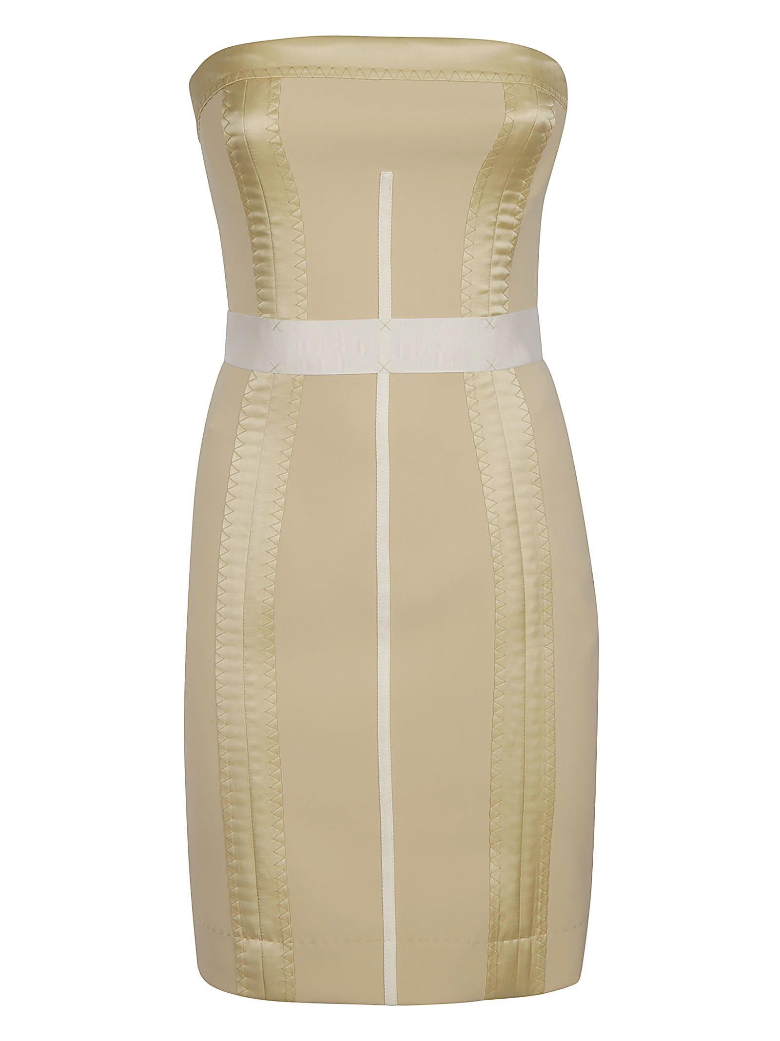 Moschino Rear Zip Slim Dress