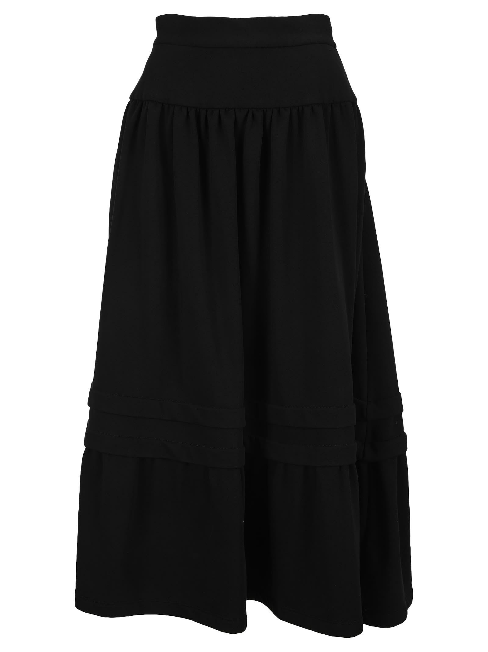 Mm6 Tiered Skirt