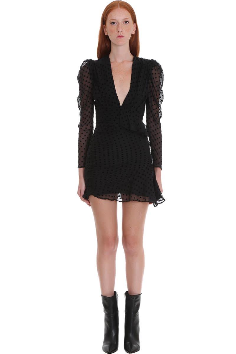 IRO Callagan Dress In Black Silk