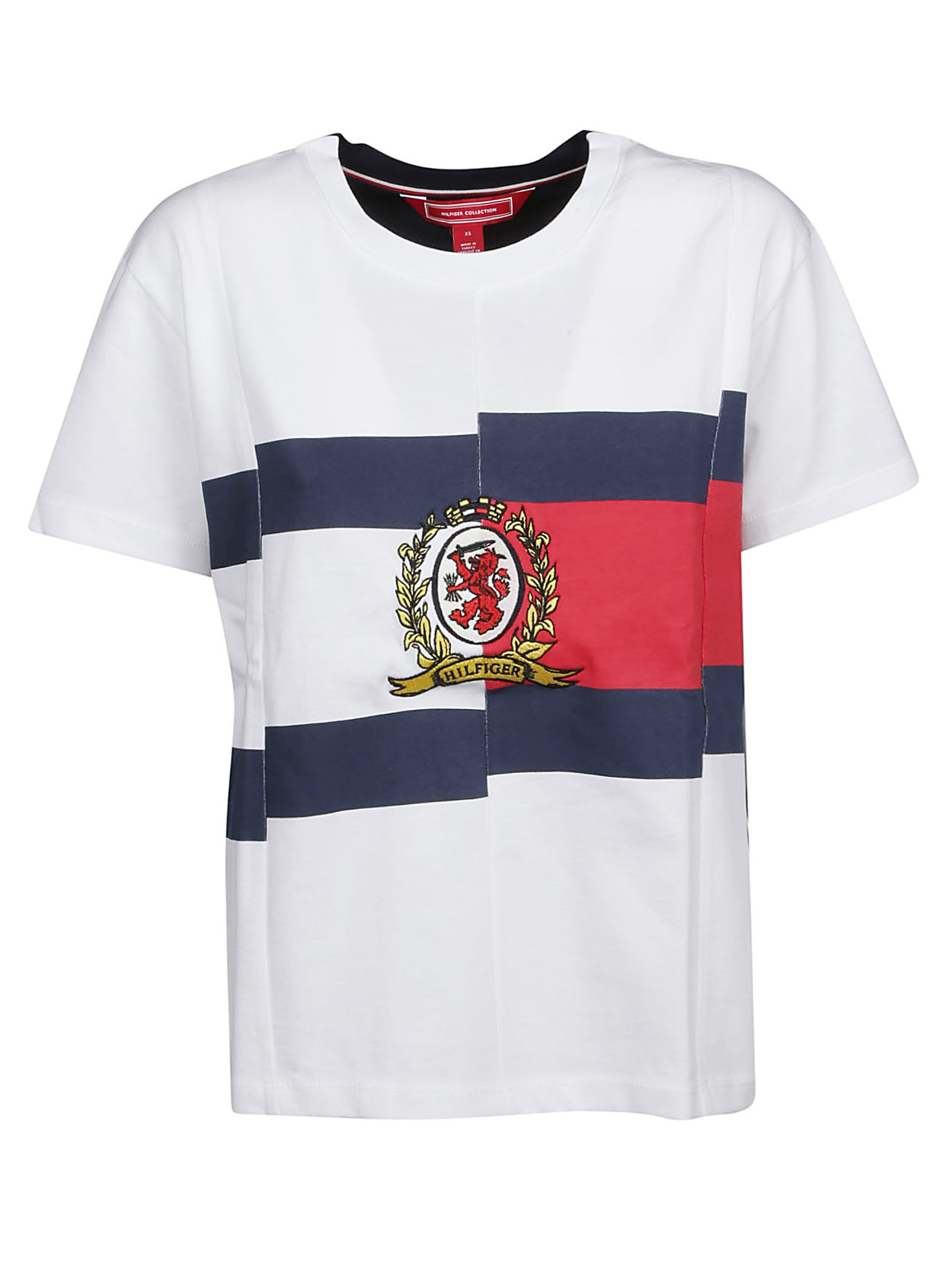 Best price on the market at italist | Tommy Hilfiger Tommy Hilfiger Embroidered Logo T shirt