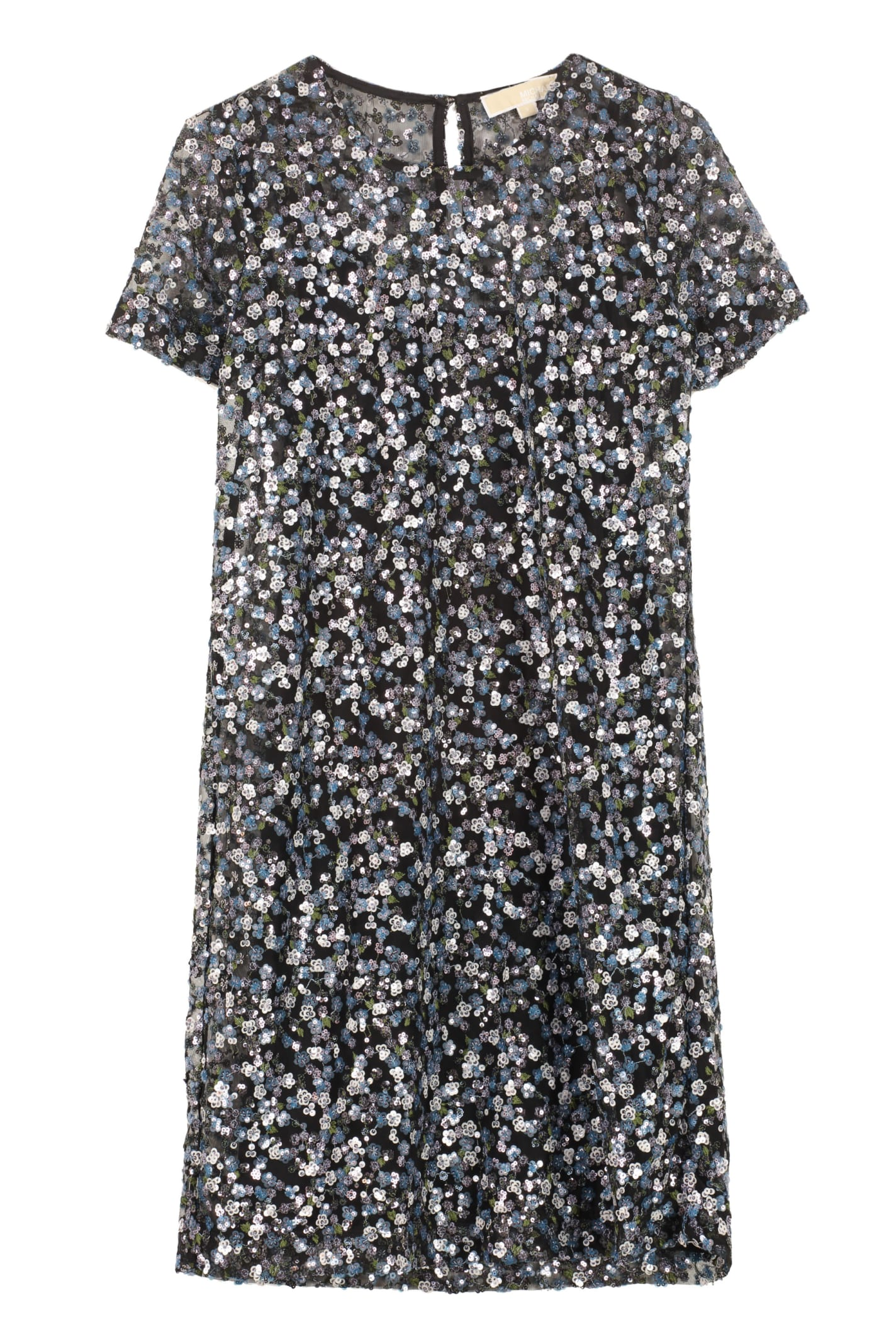 Buy MICHAEL Michael Kors Embroidered Mini Dress online, shop MICHAEL Michael Kors with free shipping