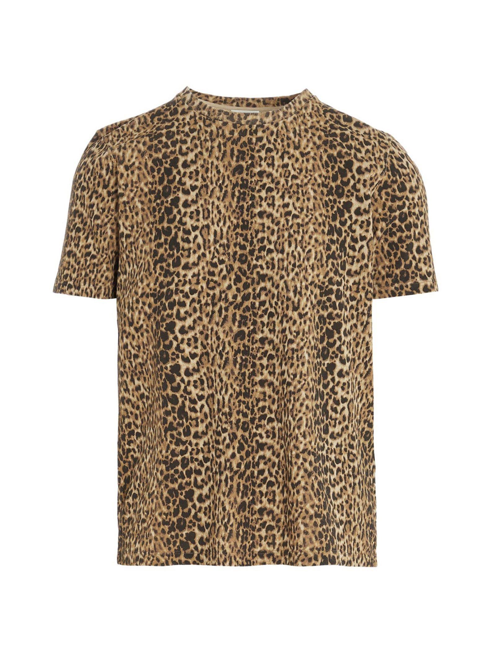 Saint Laurent leopard T-shirt