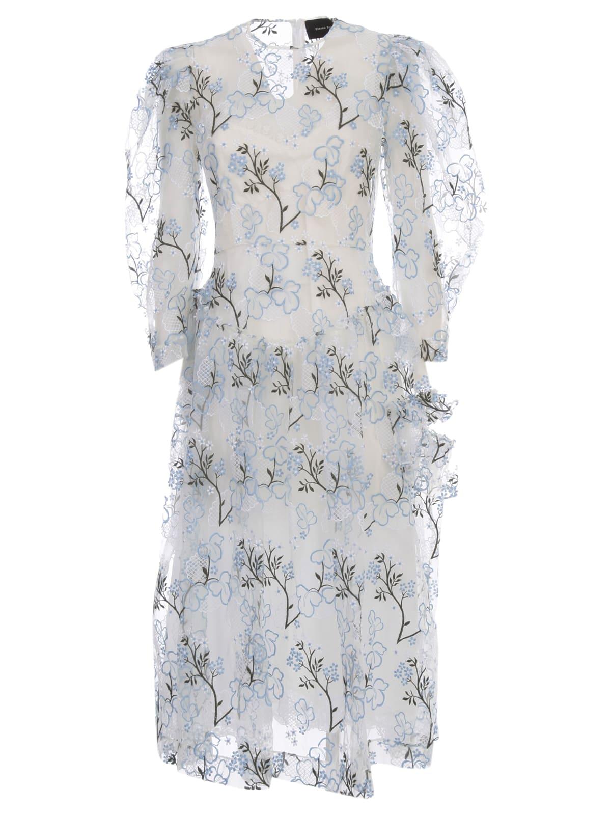 Simone Rocha Full Sleeve Single Bite Dress