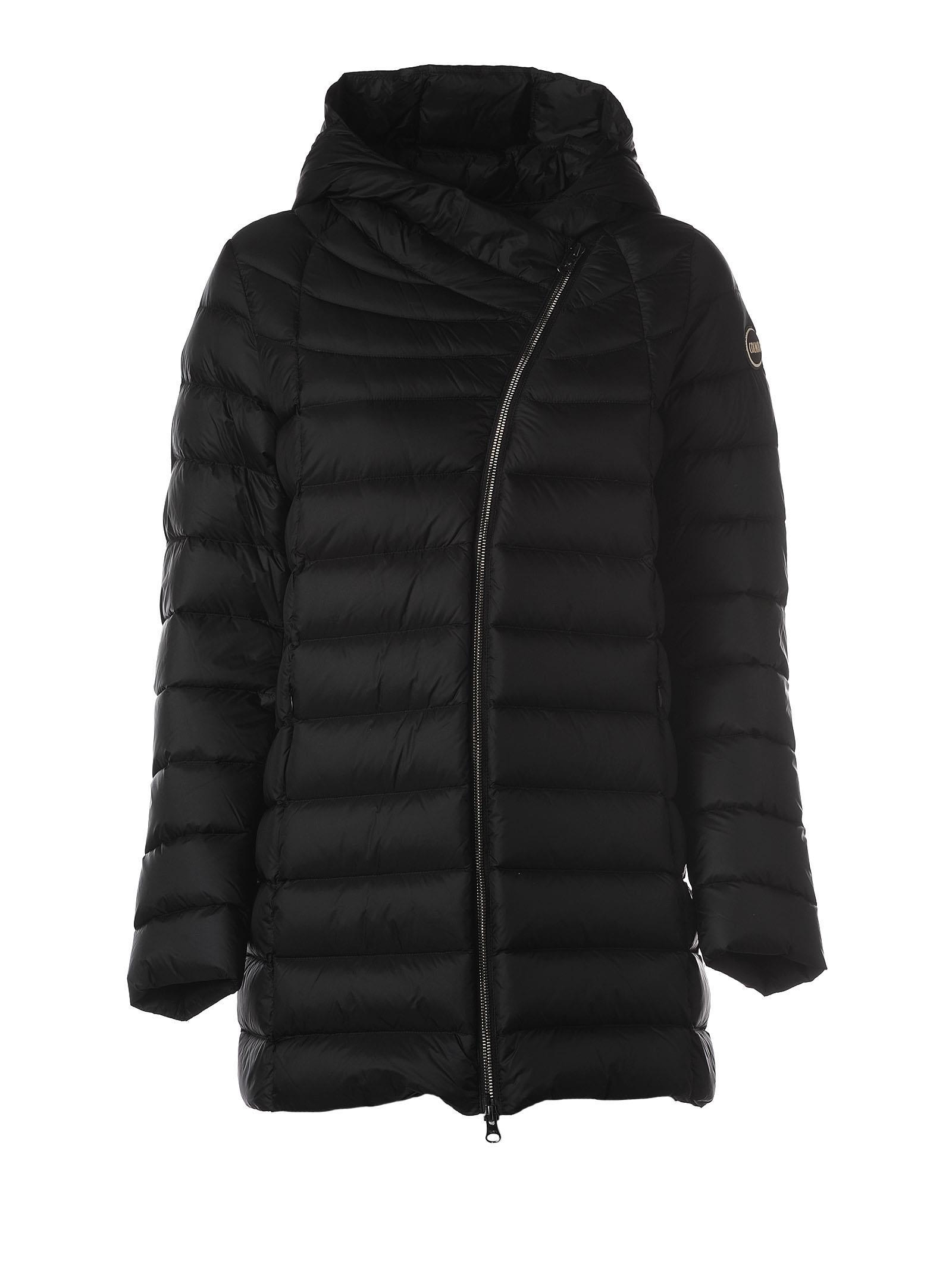 Colmar Black Hooded Padded Jacket