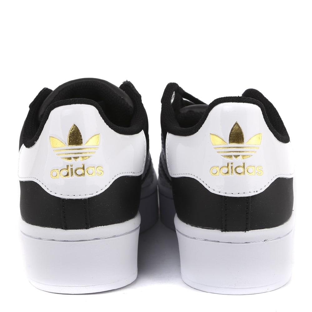 Buy Newest Adidas Originals Superstar Bold Leather Sneaker - Great Deals