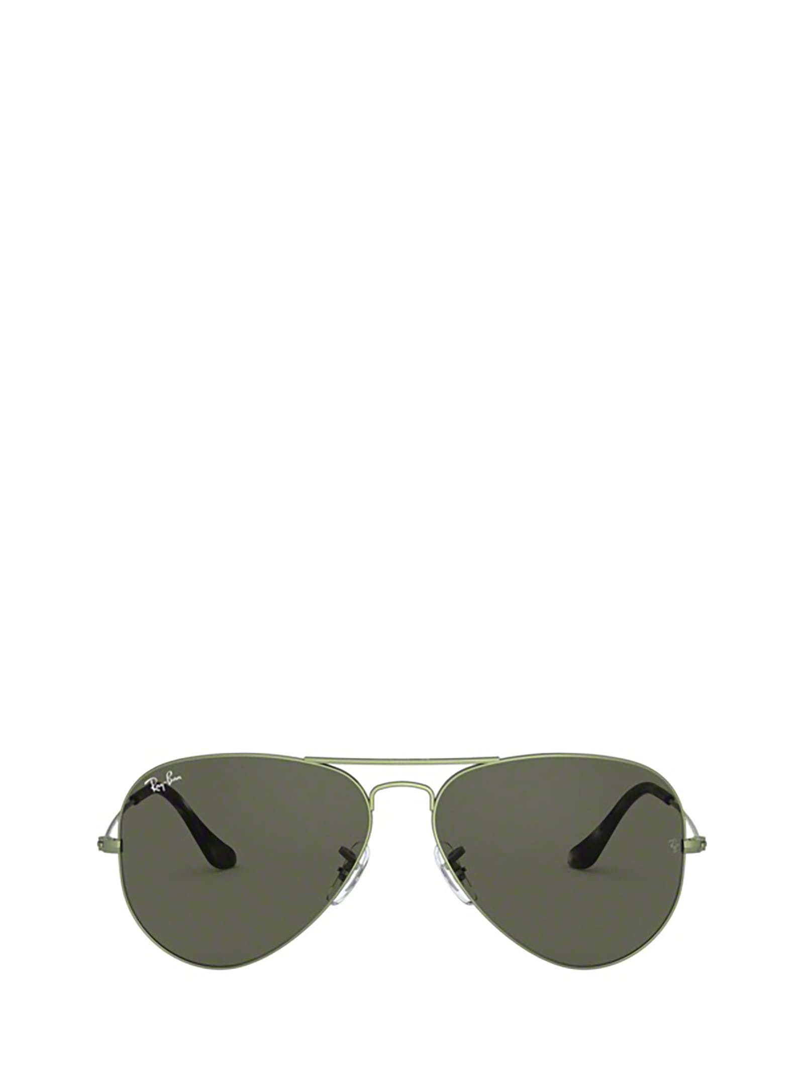 Ray-Ban Ray-ban Rb3025 Sand Transparent Green Sunglasses