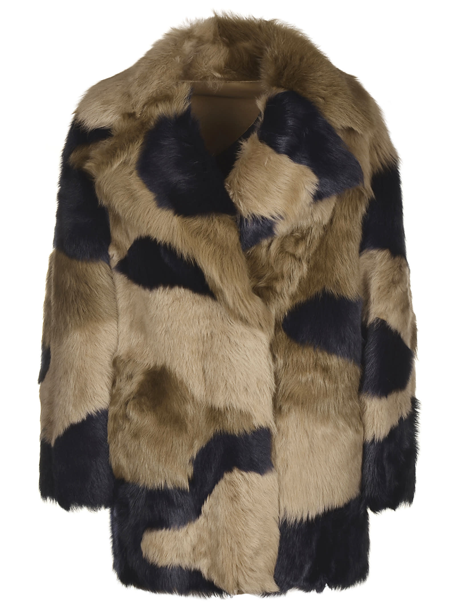 Blancha Reversible Fur Coat