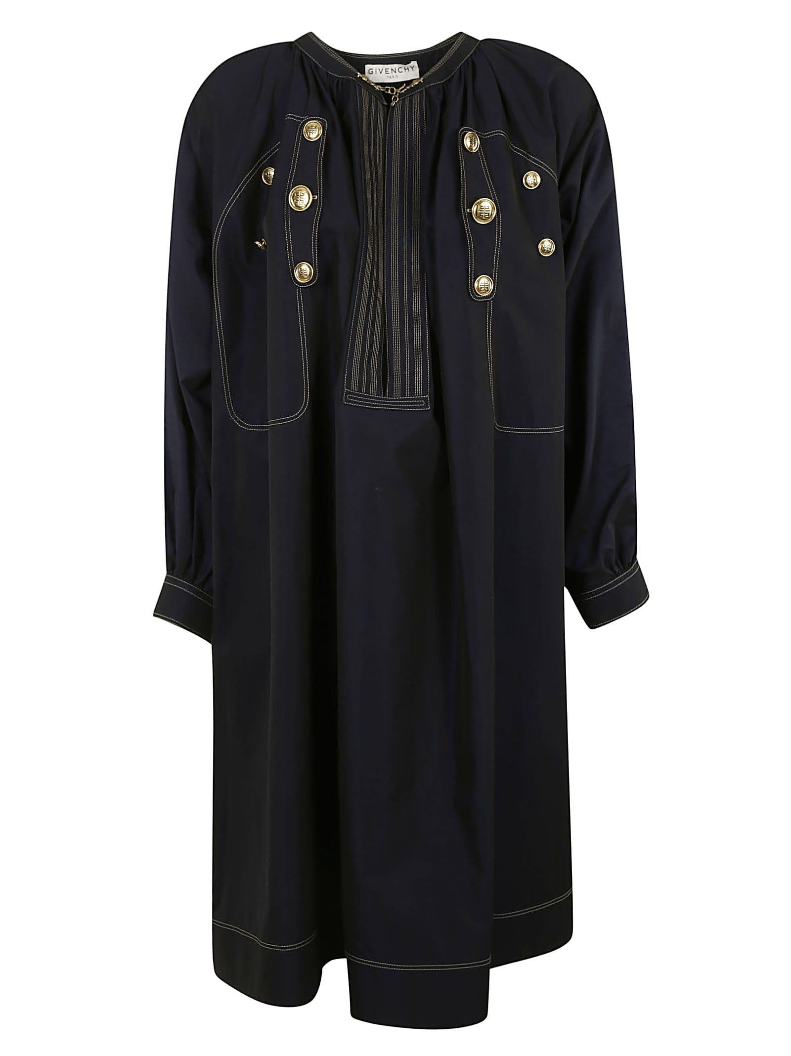 Buy Givenchy Button-embellished Dress online, shop Givenchy with free shipping