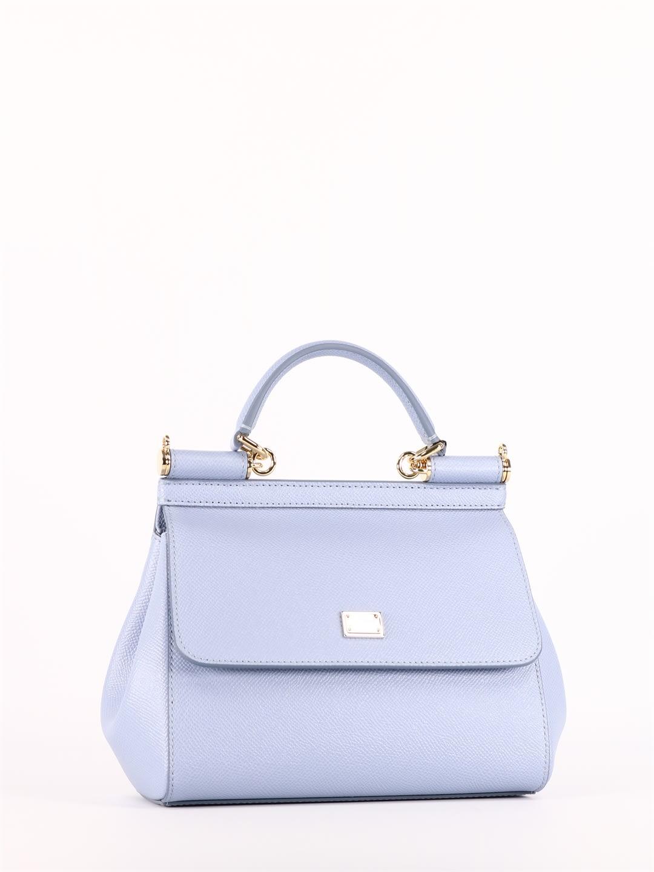 Dolce & Gabbana MINI LIGHT BLUE SICILY BAG